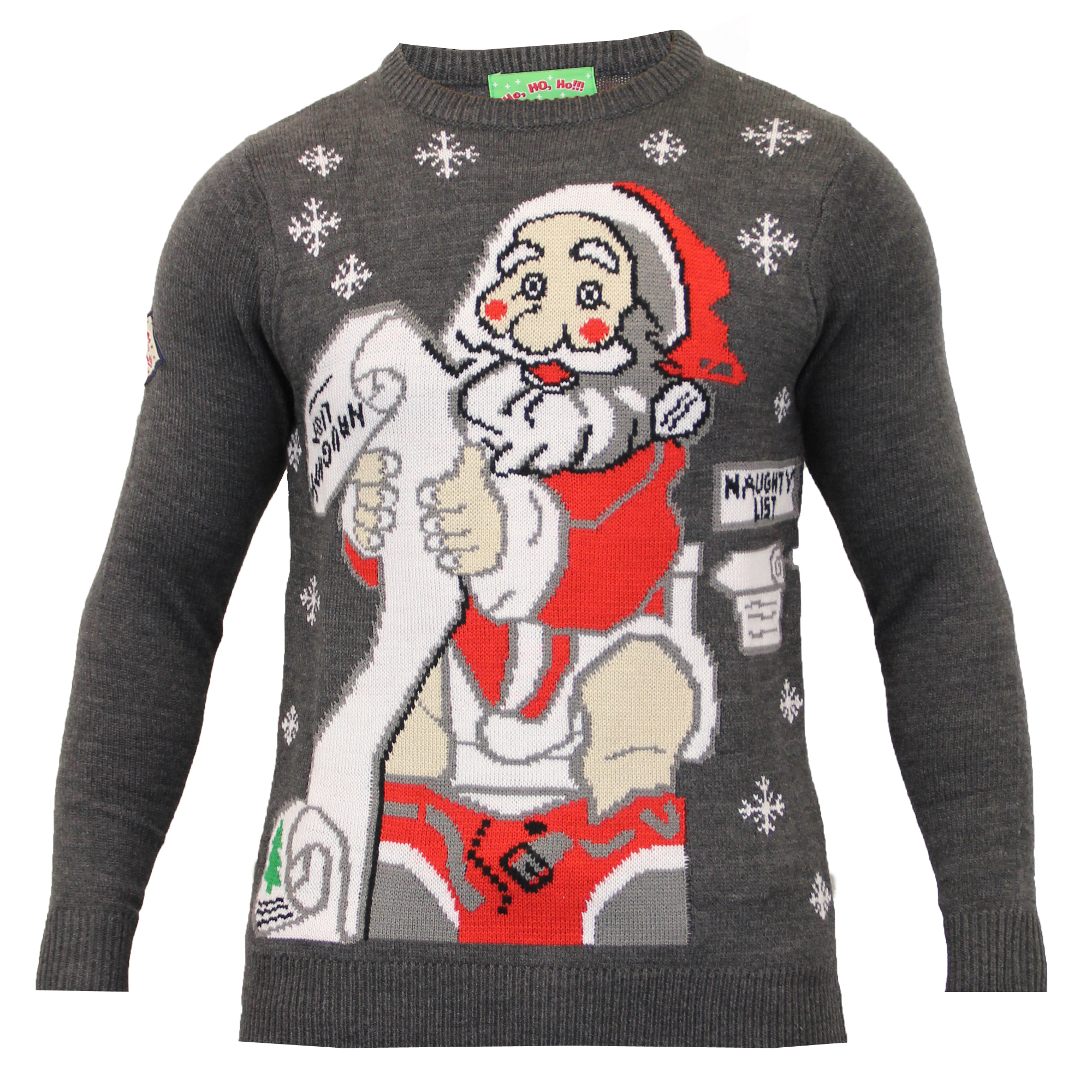 Mens Christmas Jumper Threadbare Xmas Knitted Snowman Santa Novelty Sweater N...