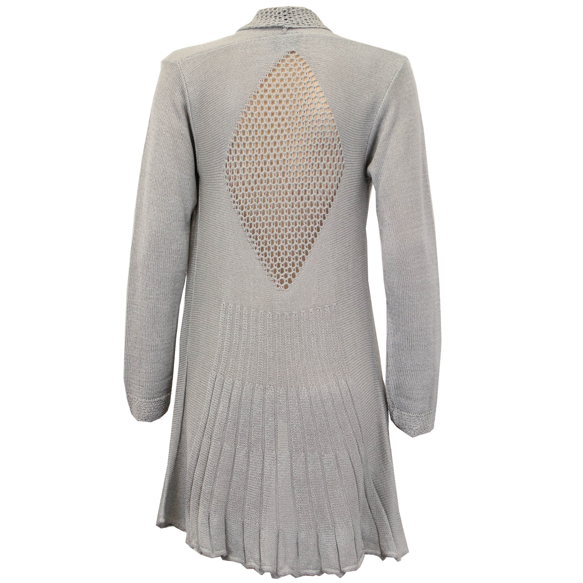 Knitting Cardigan For Ladies : Ladies womens knitted crochet cardigans