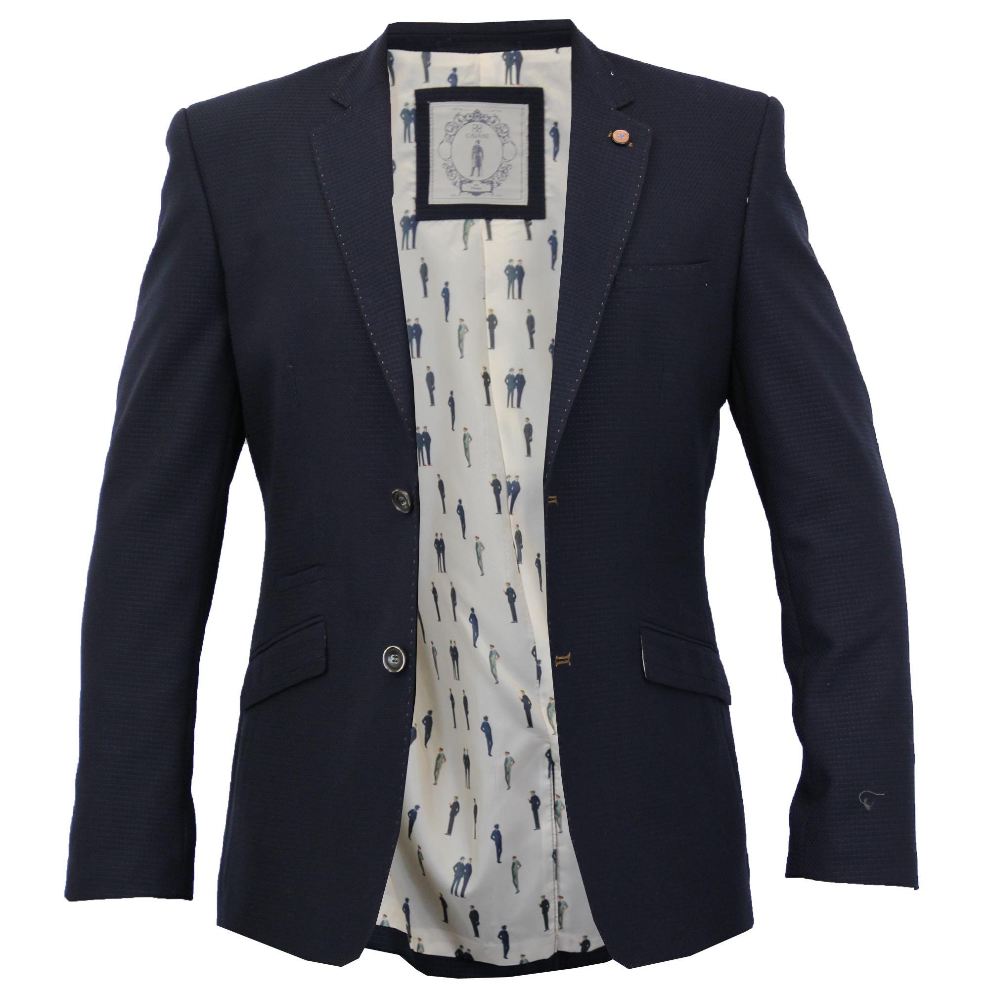 mens formal slim fit blazer jacket by cavani ebay. Black Bedroom Furniture Sets. Home Design Ideas