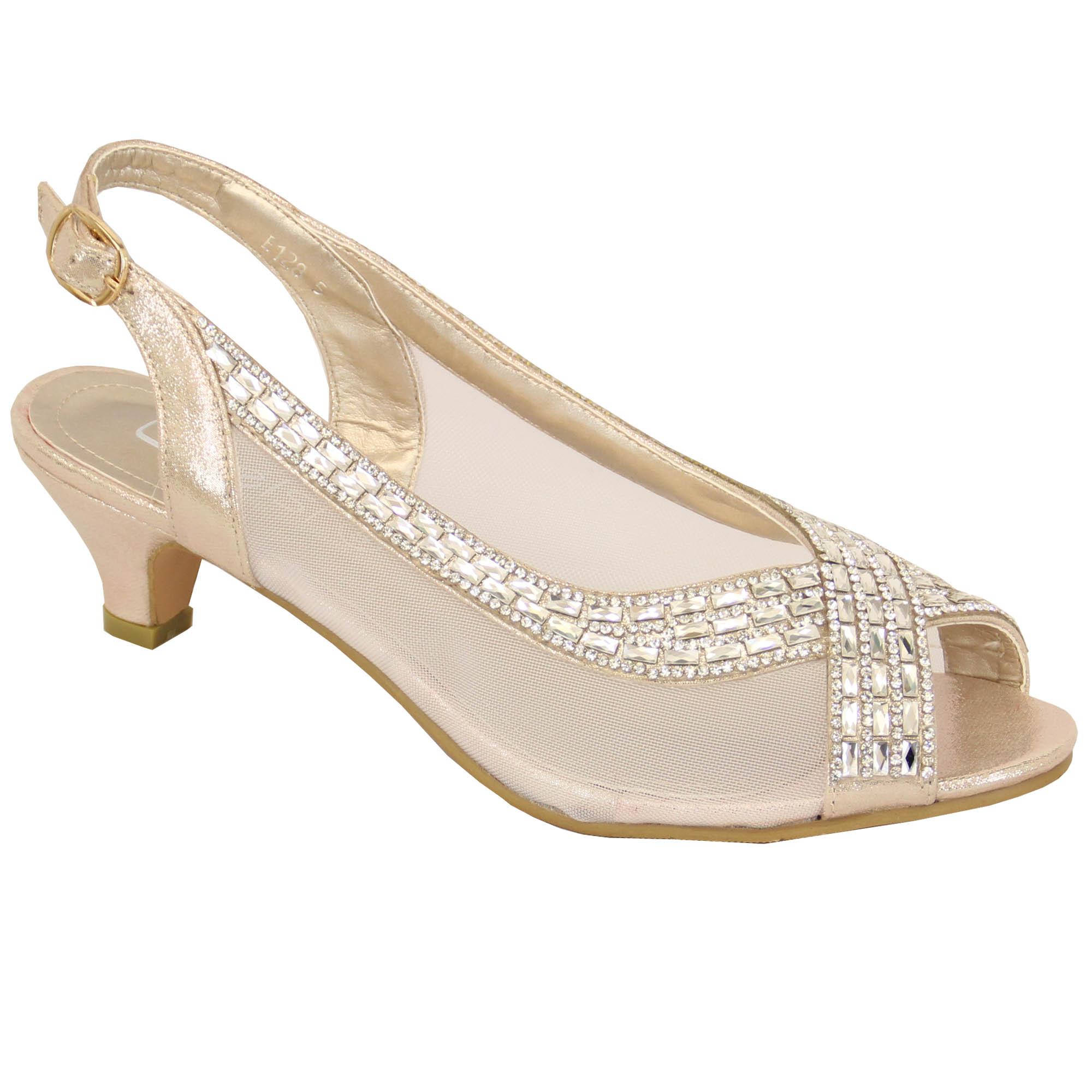 Kitten Heel Shoes Sandals