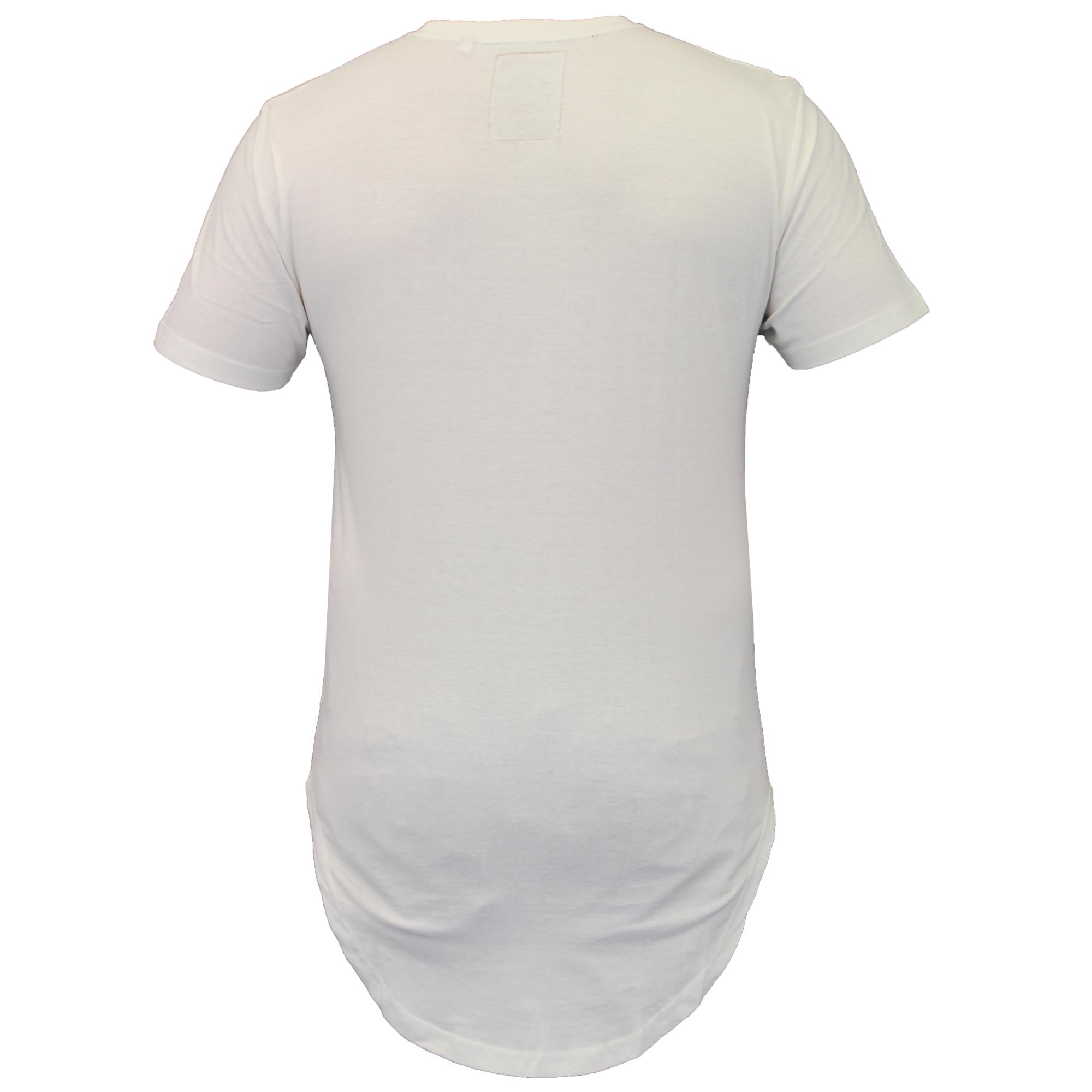 Mens short sleeved baseball long line t shirts by soul for Long line short sleeve t shirt