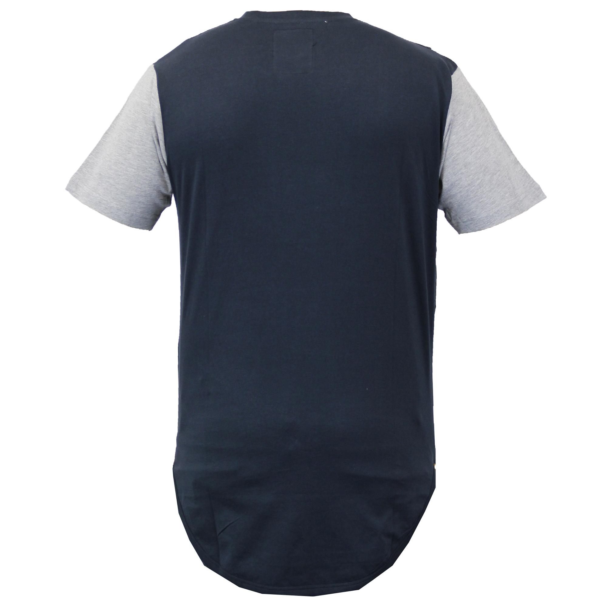 Mens long line short sleeved mesh t shirts by soul star for Long line short sleeve t shirt