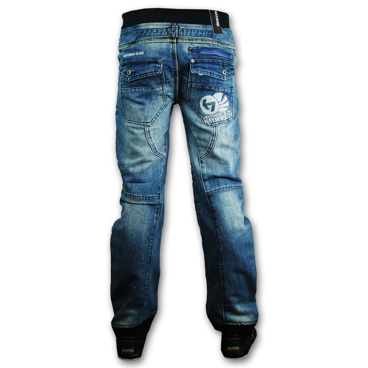Cuffed Jeans is rated out of 5 by 2. Rated 1 out of 5 by SailingTheAmerica from VERY DISAPPOINTED -- Loyal Customer for 11 years I ordered these jeans for my son to wear during the holidays, with a matching J & J sweater.