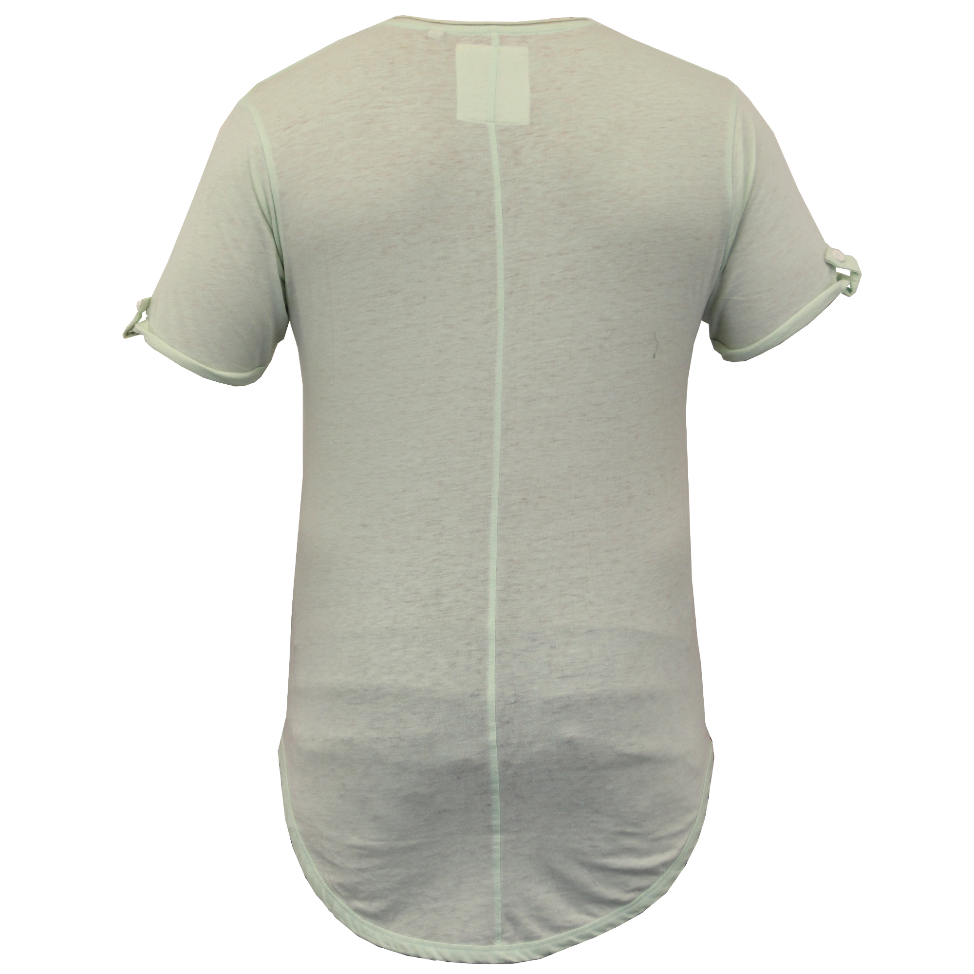 mens long line short sleeved t shirts by soul star ebay ForLong Line Short Sleeve T Shirt