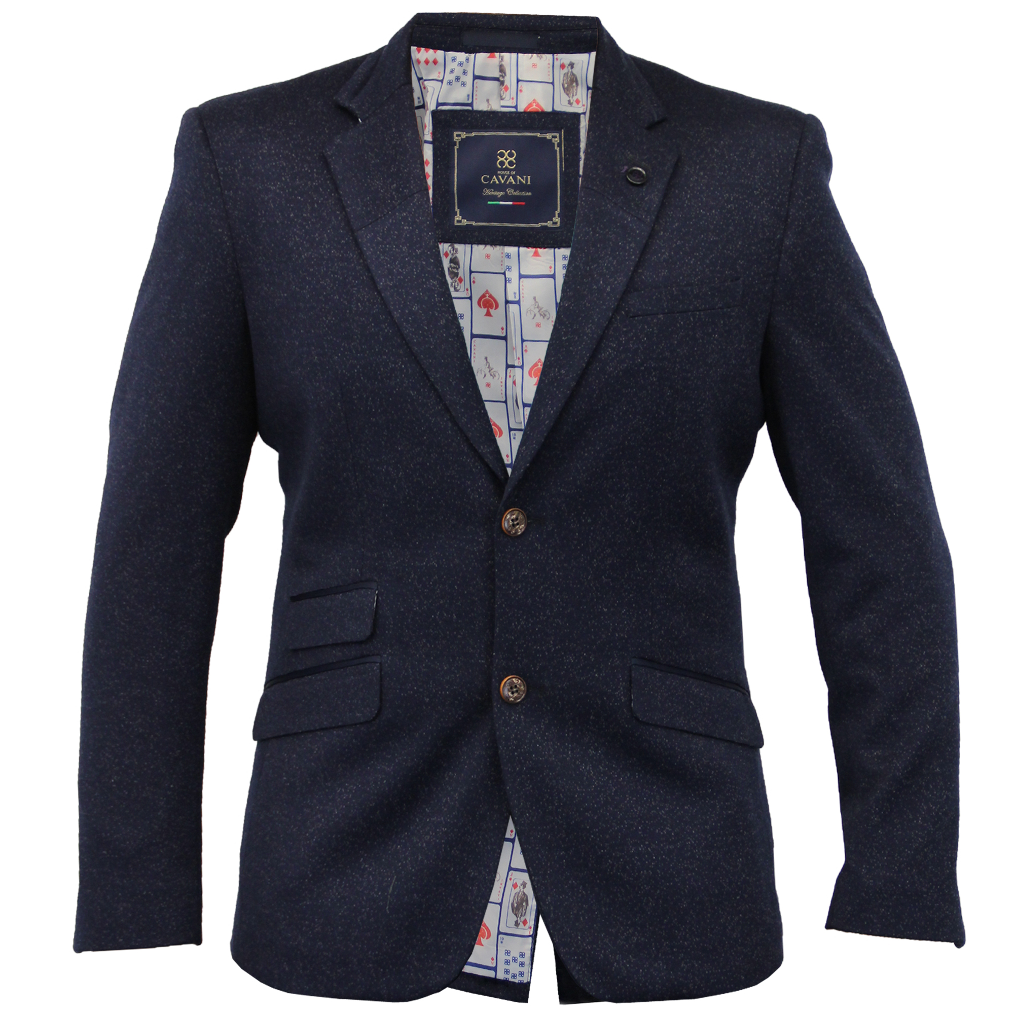 Mens Linen Slim Fit Blazer Jacket By Cavani