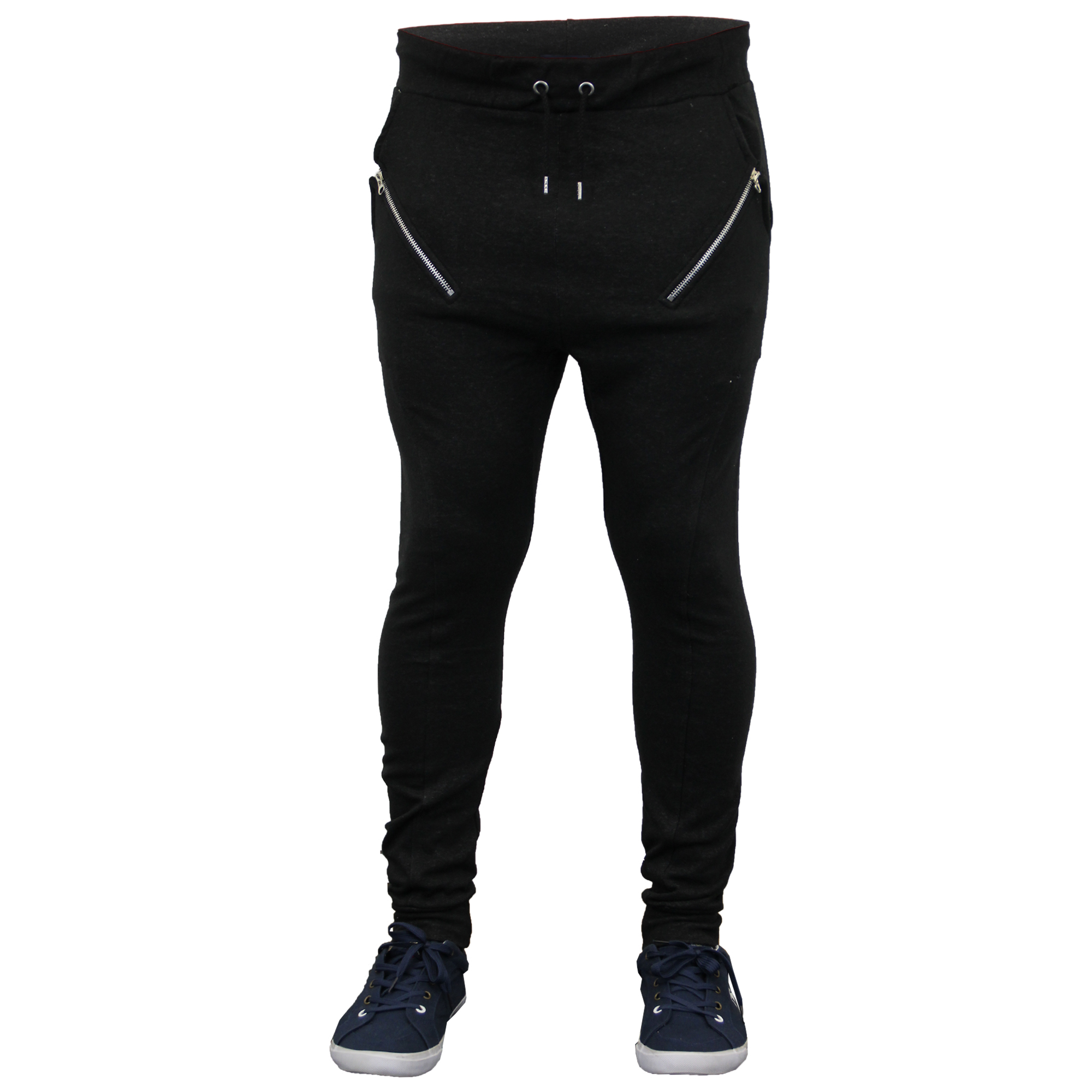 new mens designer fleece slim skinny joggers jogging sweat pants bottom ebay. Black Bedroom Furniture Sets. Home Design Ideas