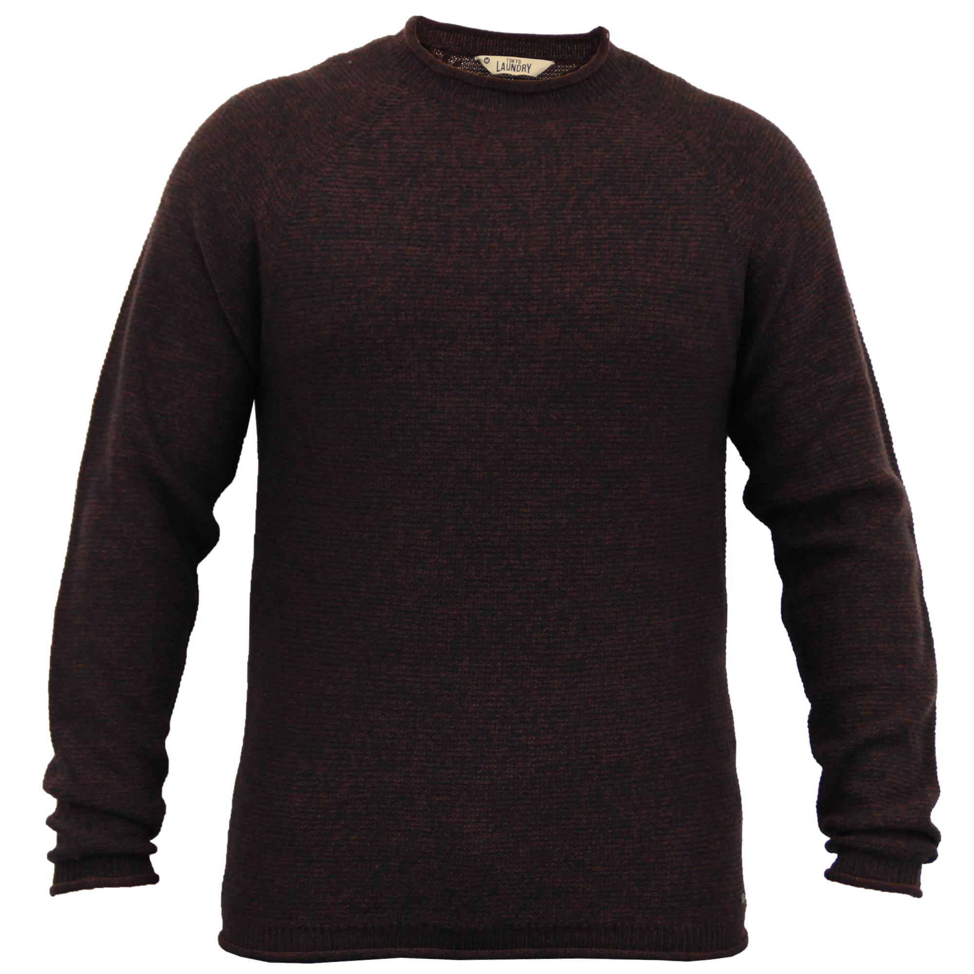 herren geschnittet wollmischung pullover top winter pullover von tokyo laundry ebay. Black Bedroom Furniture Sets. Home Design Ideas