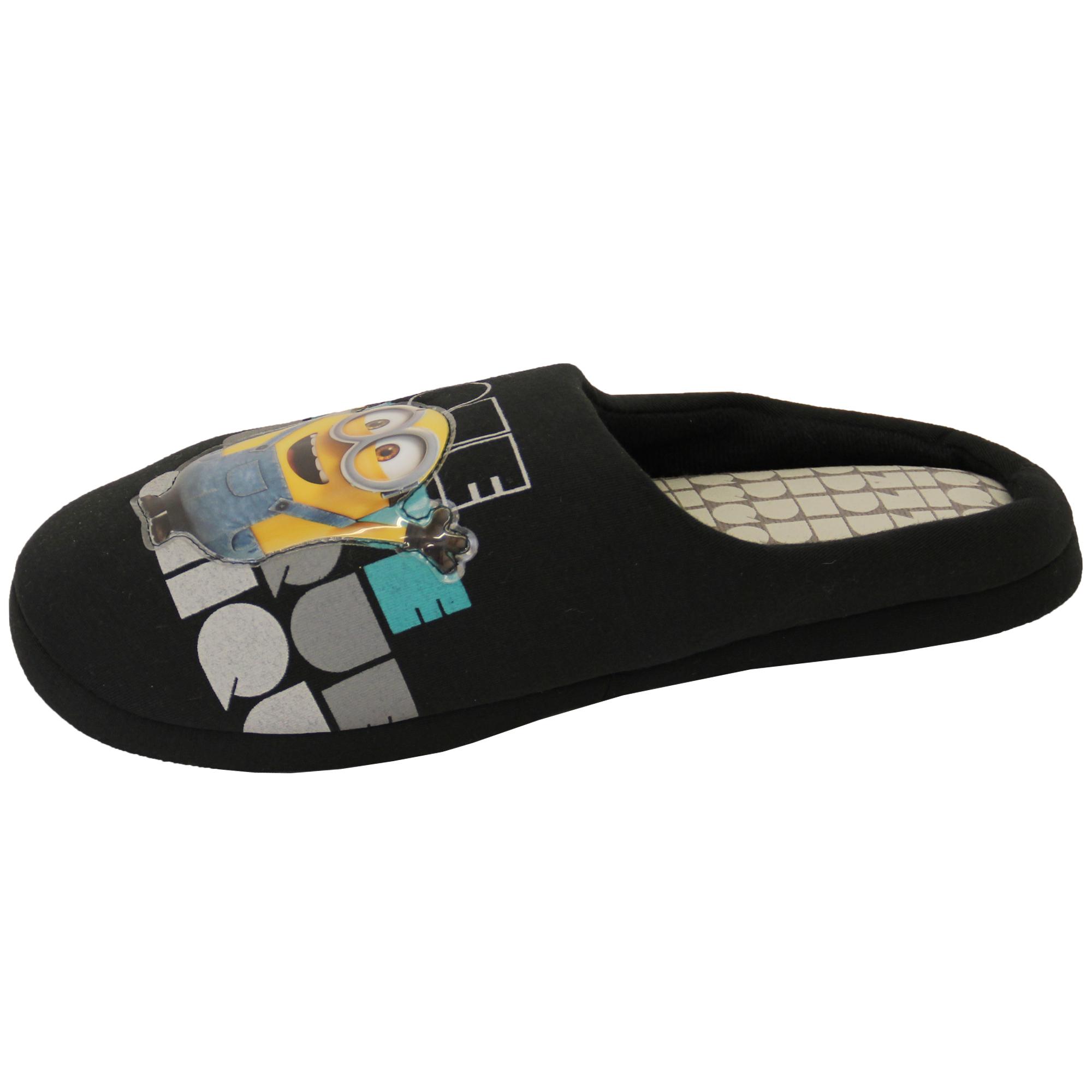 herren hausschuhe homer simpsons minions star wars pantoffeln sandalen ebay. Black Bedroom Furniture Sets. Home Design Ideas