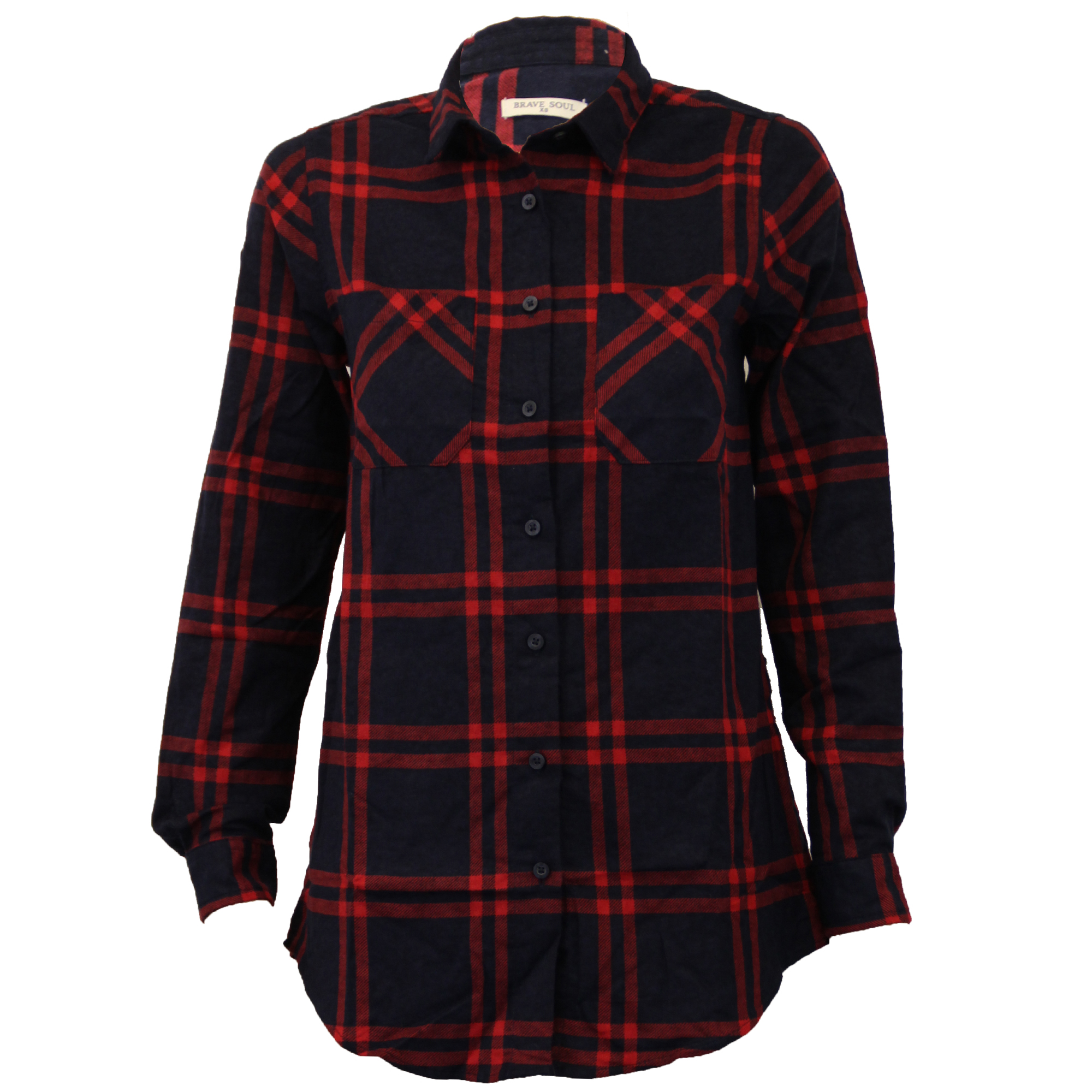 Product Features Women's comfortable plaid shirt for relaxing weekends, daily.