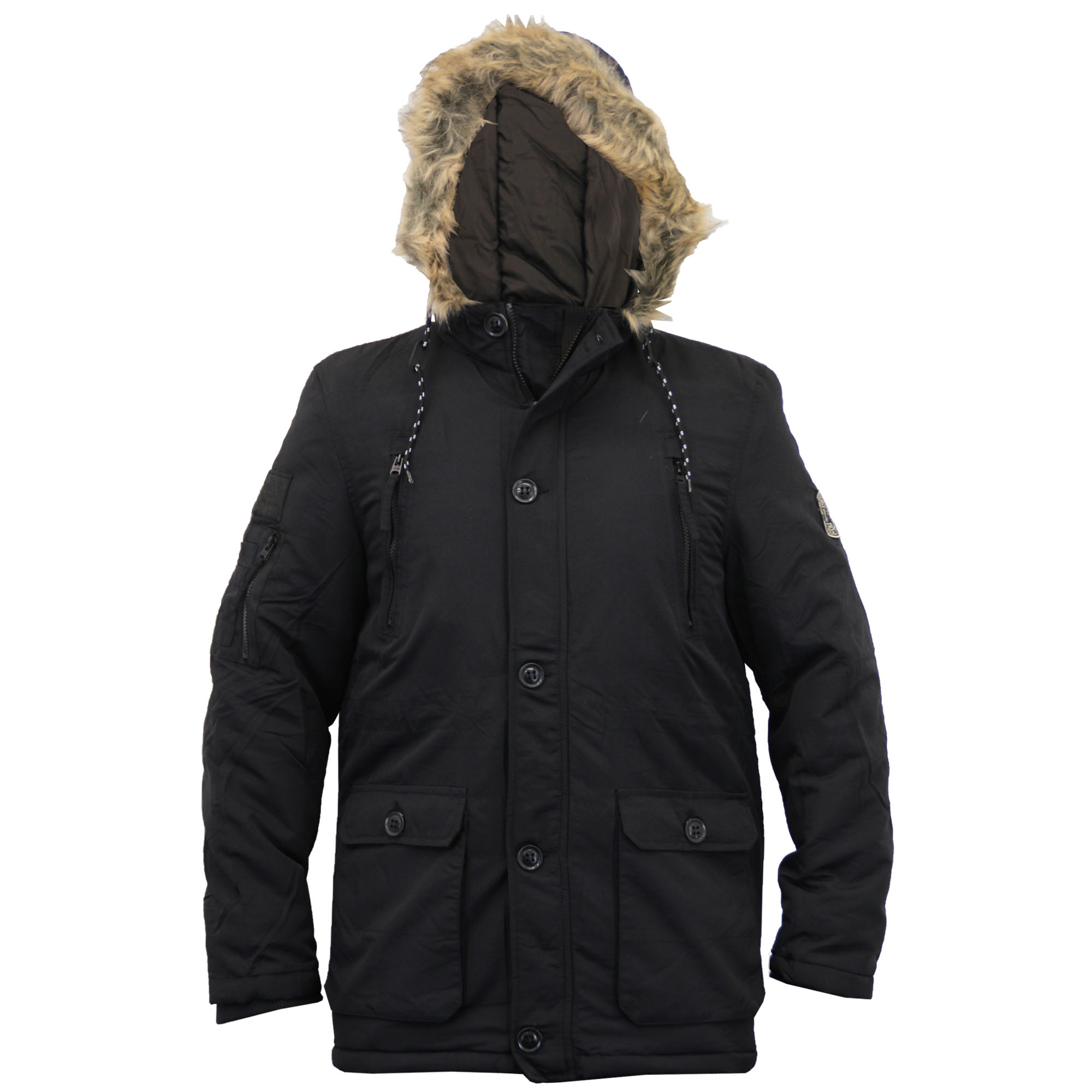 You'll find new or used products in Fur Parkas for Men on eBay. Free shipping on selected items. Skip to main content. eBay: Real fox fur lined Military hooded Jigsaw parka. Fur painted black. Fur lining is not removable. Hood is lined up with fur as well, not removable. Full zip front with storm flap.