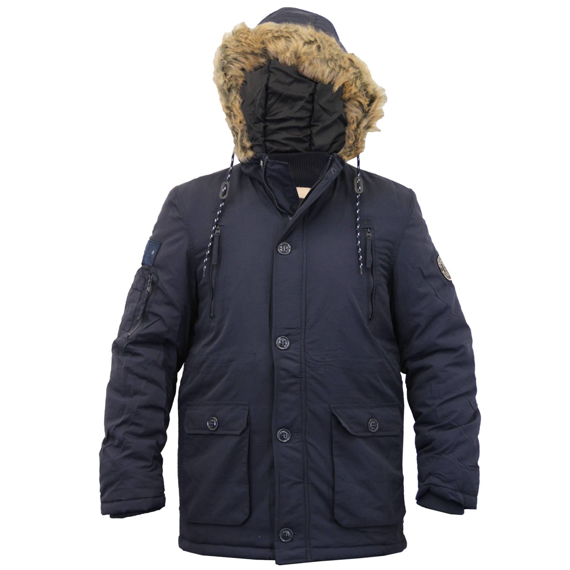 FLY HAWK Men's Hooded Thick Cotton Puffer Jacket Winter Quilted Snorkel Parka with Detachable Faux Fur Collar Anorak Coat by FLY HAWK $ - $ $ 59 99 - $ 65 99 Prime.