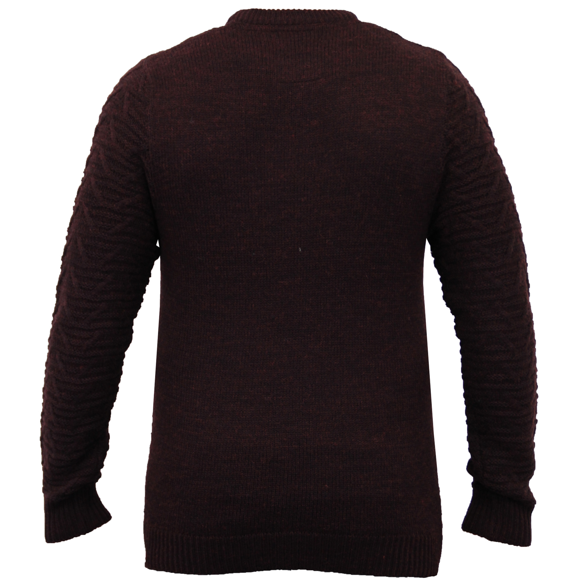 Mens Wool Mix Jumpers Threadbare Knitted Sweater Pullover ...