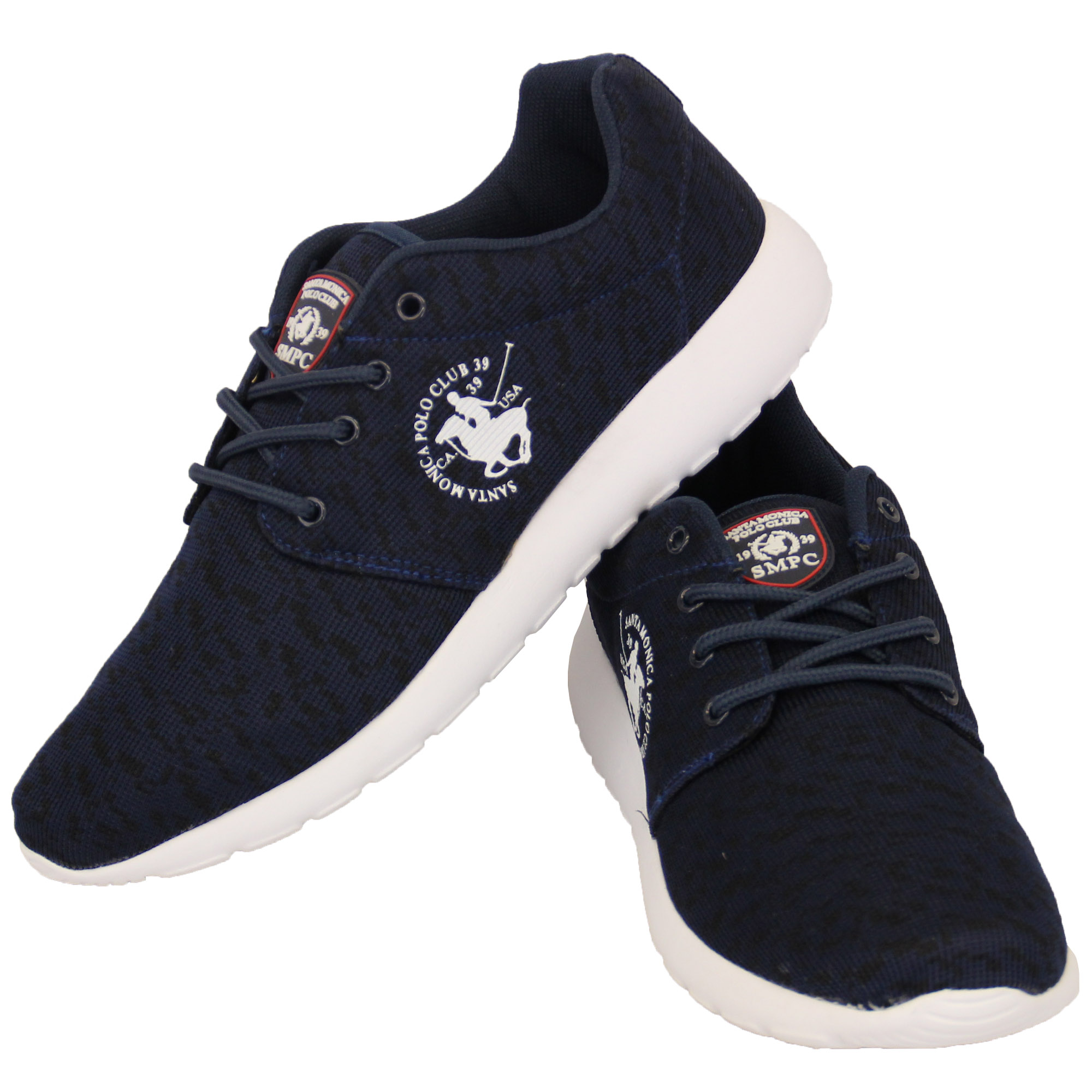 mens trainers santa polo club shoes lace up pumps
