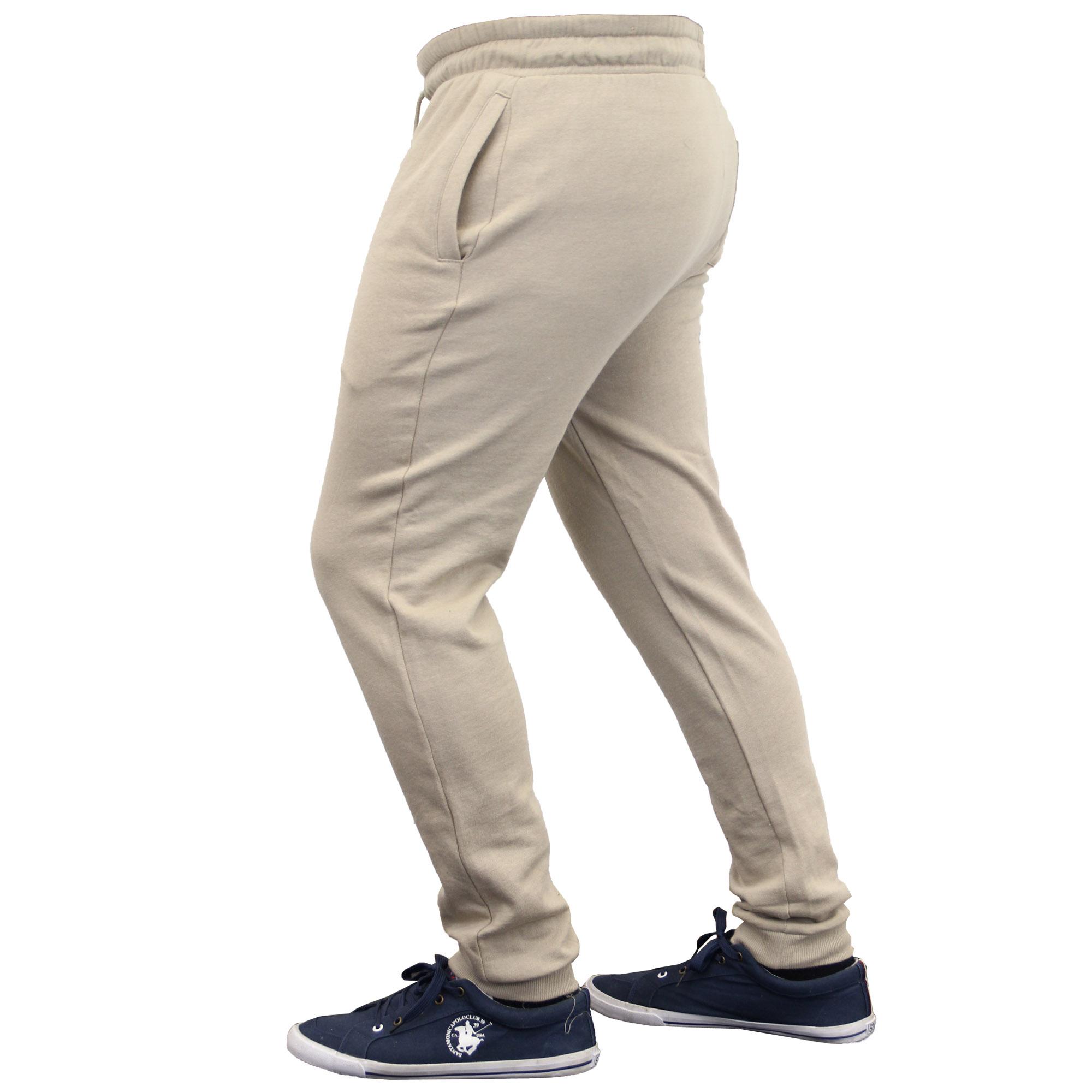 Mens Bottoms Brave Soul Jogging Trousers Pants Running Gym Fleece Lined Winter
