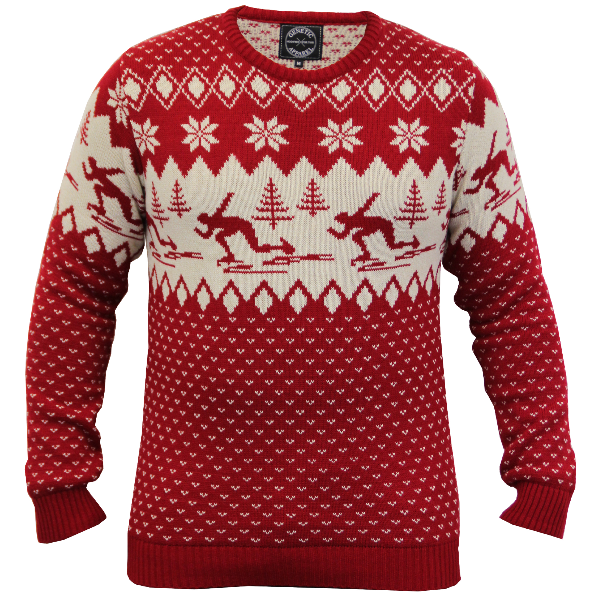 FREE Christmas jumper knitting pattern in the Weekend magazine's festive gift guide special. FREE Christmas jumper knitting pattern in the Weekend magazine's festive gift guide special.