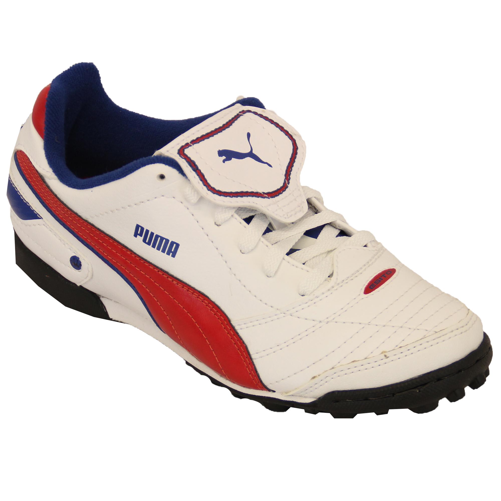 Boys Football Trainers Puma Kids Boots Shoes Astro Turf ...