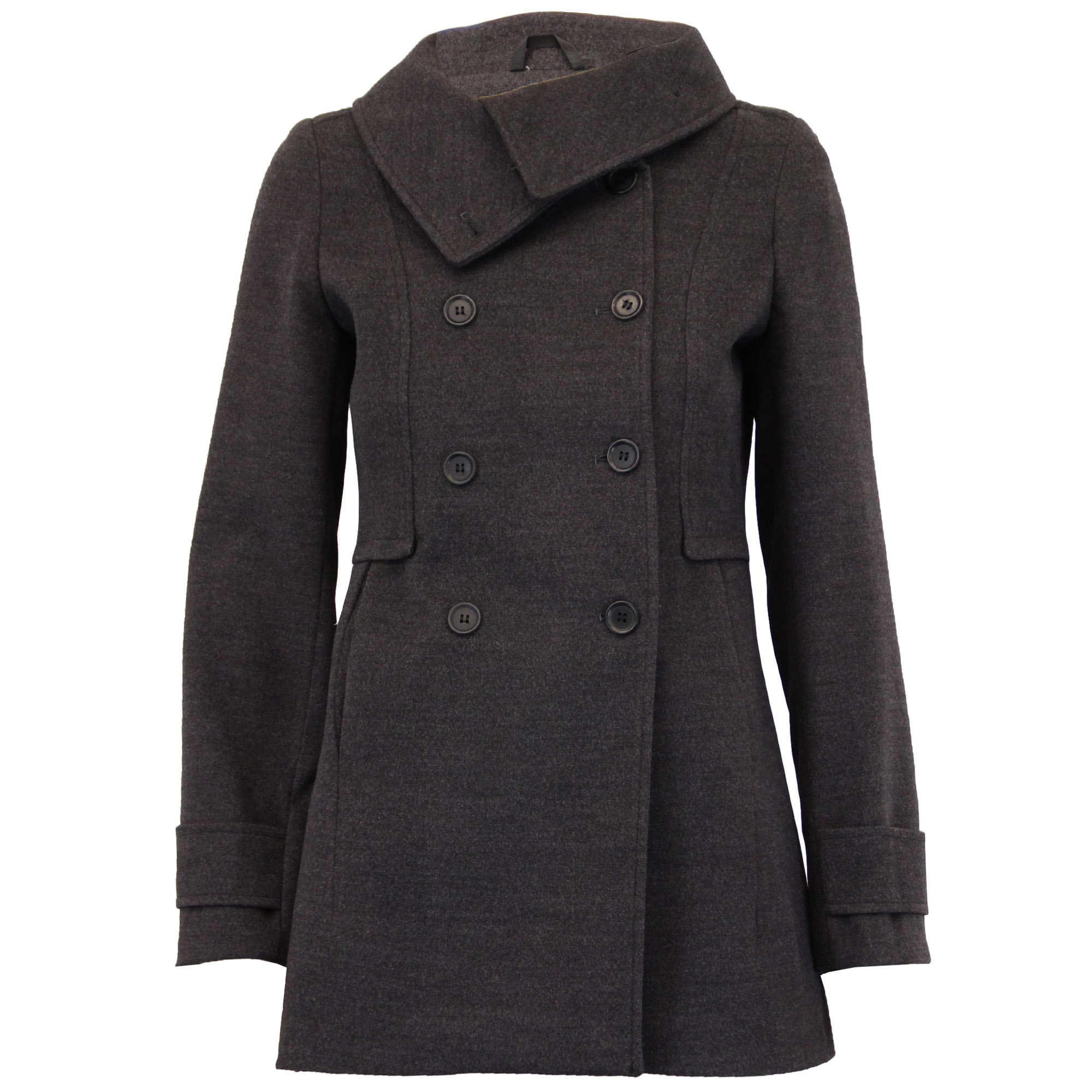 Womens wool trench coat