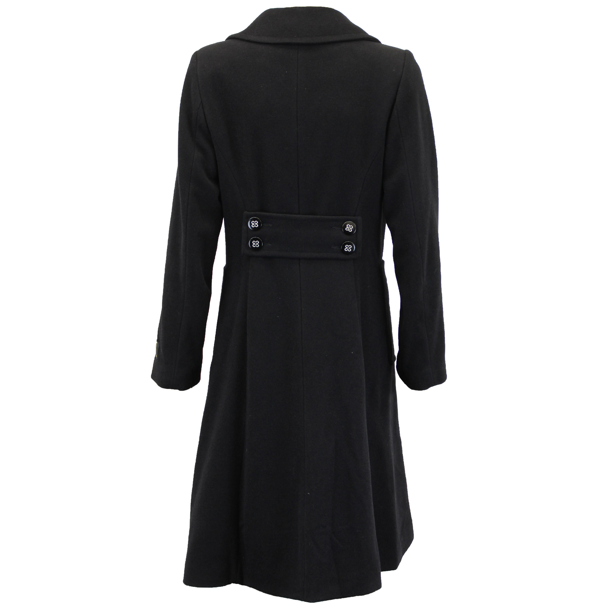 Ladies Wool Cashmere Coat Womens Jacket Double Breasted