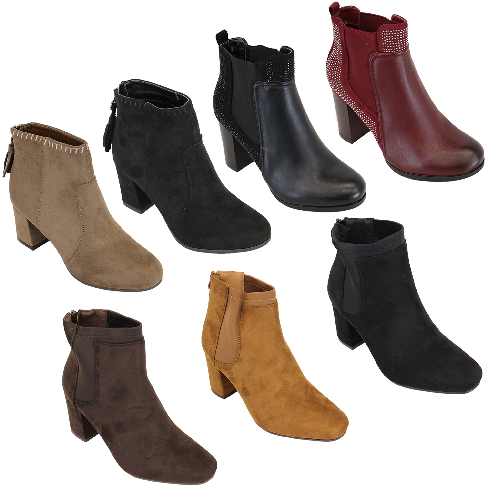 Ladies Block Shoes New Look