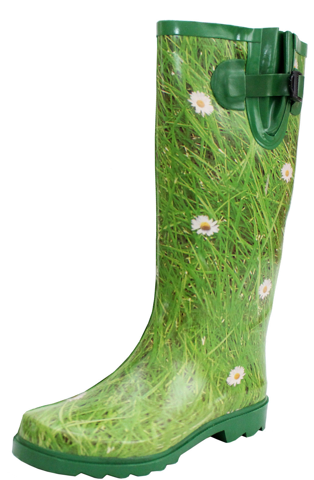 Beautiful Womens Rain Boots Rubber Short Ankle Wellies Wellington Pull On Garden