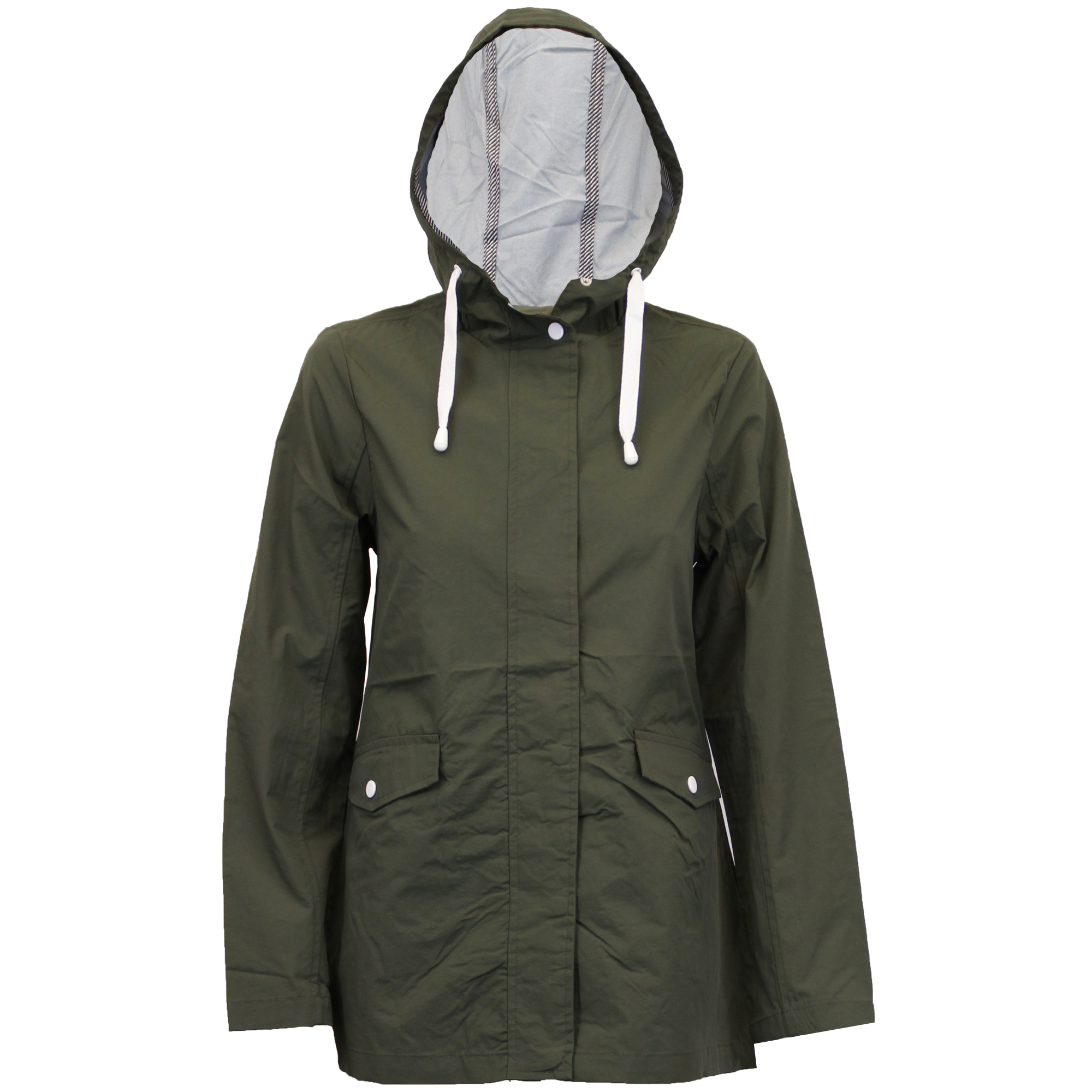 Ladies Kagool Jacket Brave Soul Womens Coat Hooded Lightweight ...