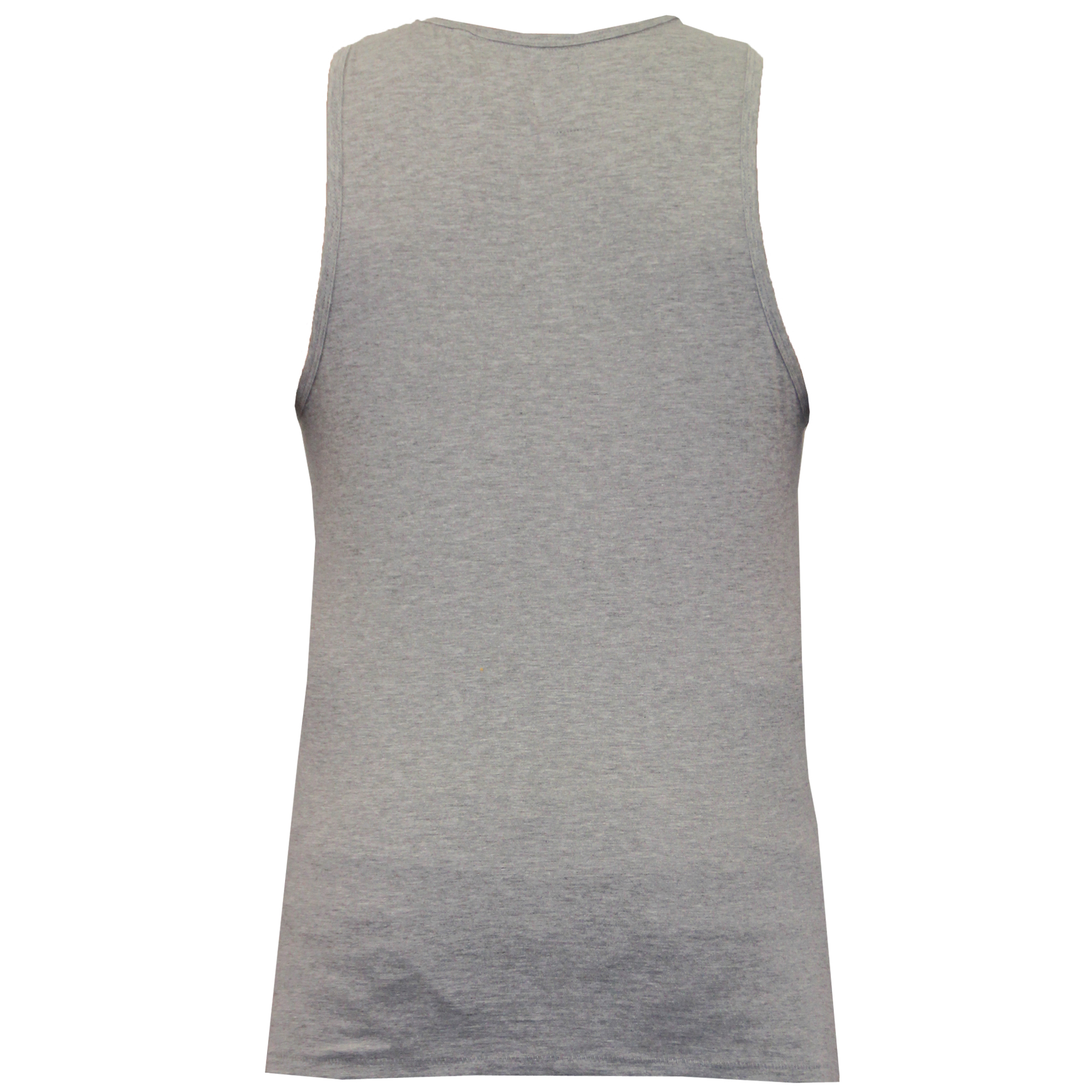 Mens Vest Threadbare Tank Top Cotton Sleeveless Active Gym Beach Plain Summer