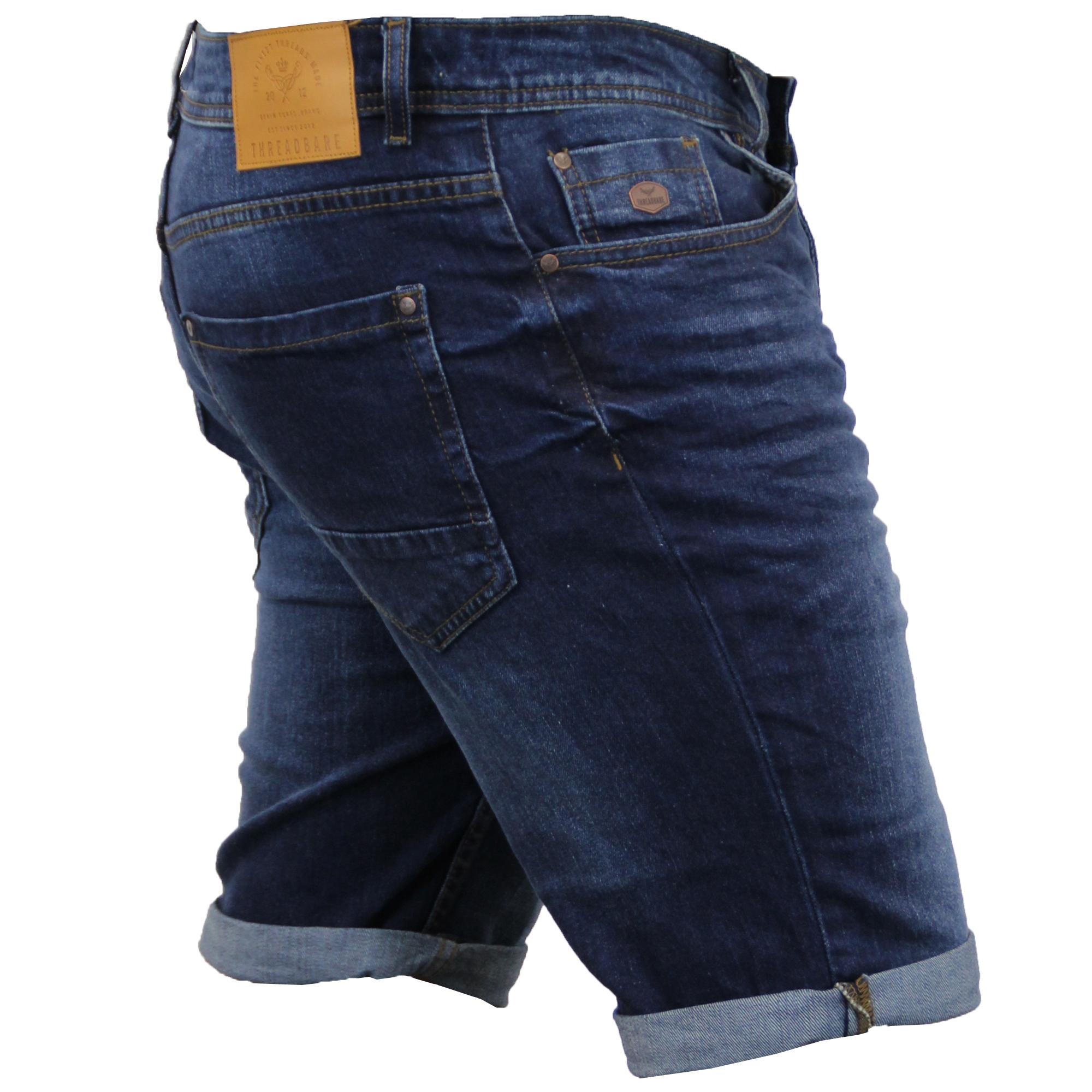 Mens Short Rise Jeans