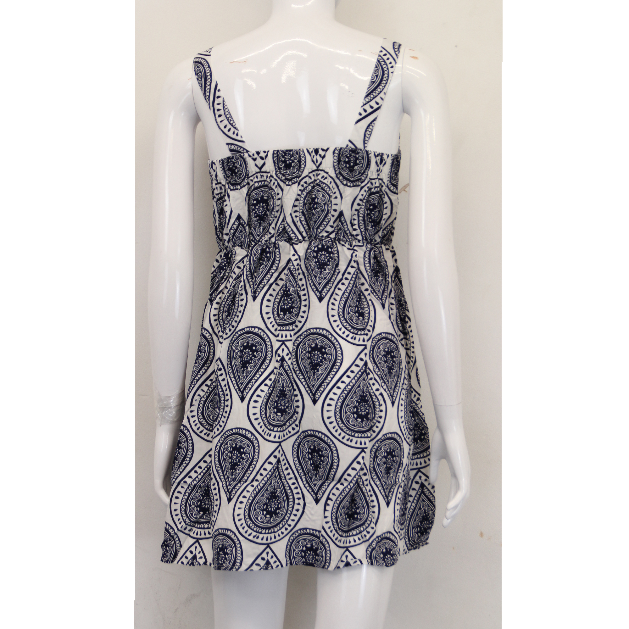Ladies Flared Dress Brave Soul Womens Paisley Print Sleeveless Summer Fashion