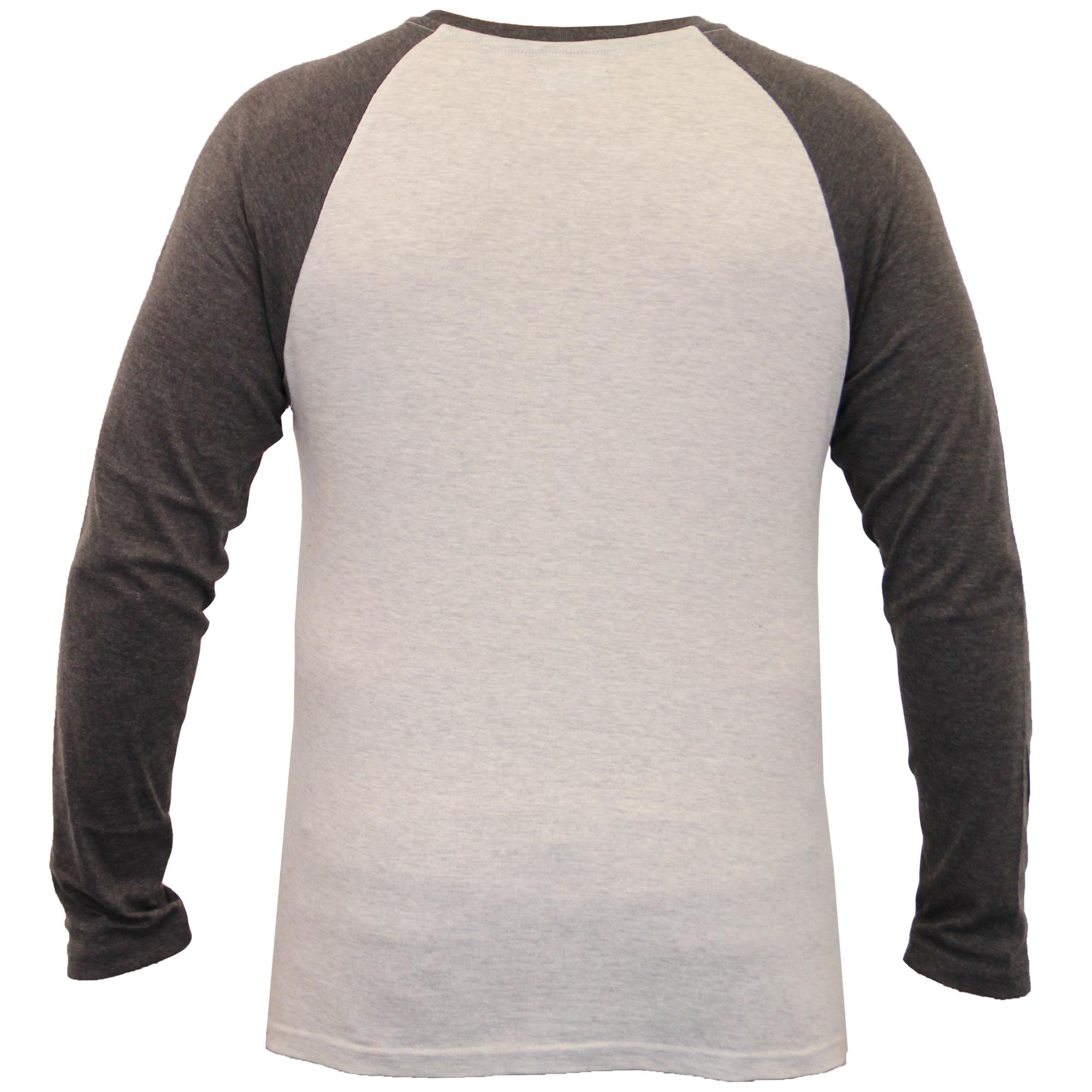 Top-Hombre-Brave-Soul-Manga-Larga-Camiseta-Jersey-Cuello-Redondo-Casual