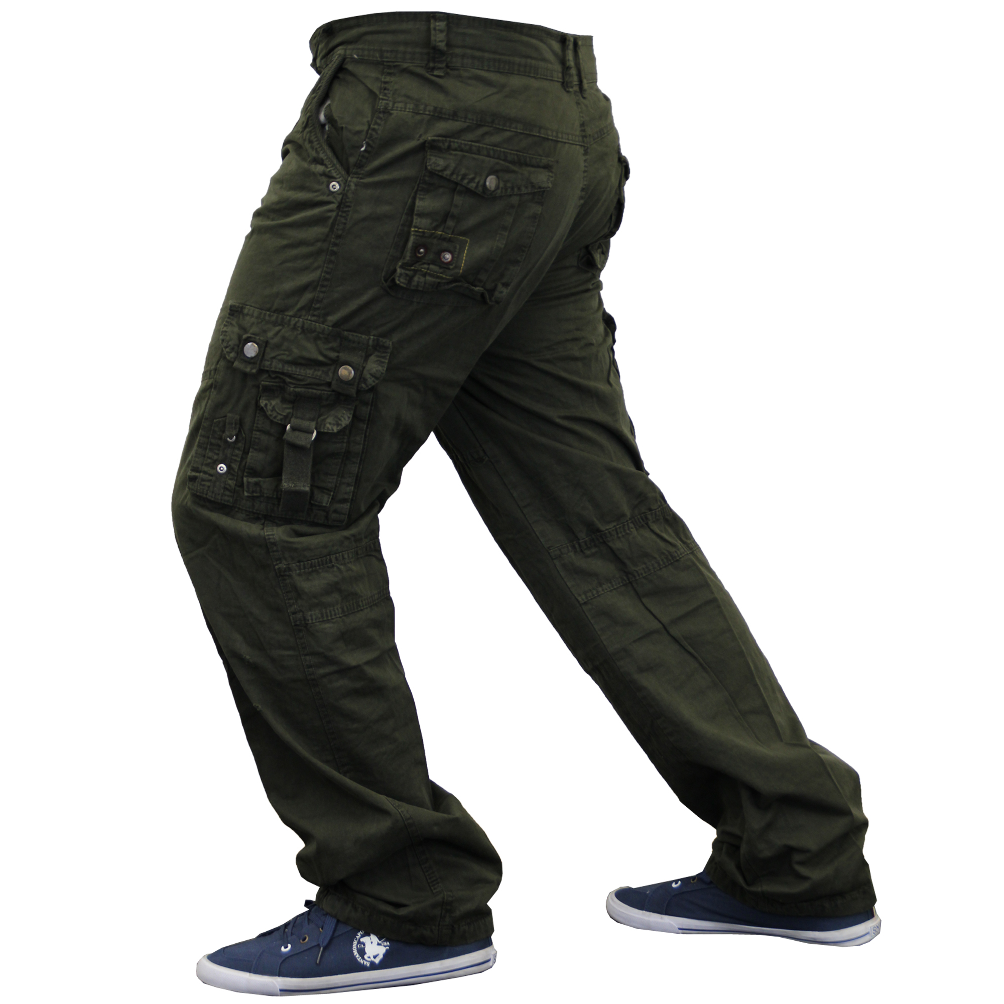 Mens Camouflage Bottoms Combat Cargo Military Army Trousers Pants Summer New