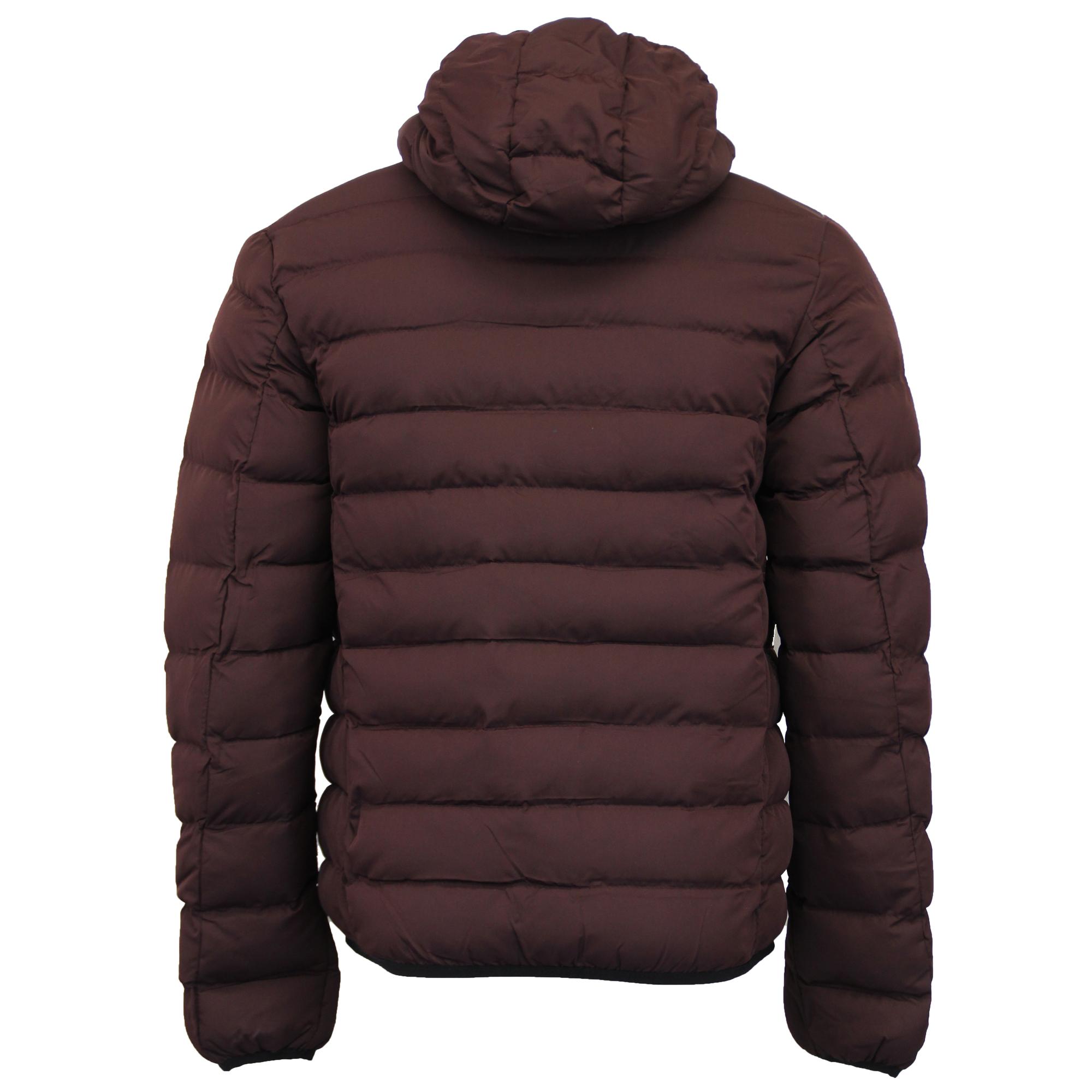 Mens Bubble Jacket Brave Soul Coat Camo Threadbare Hooded ...