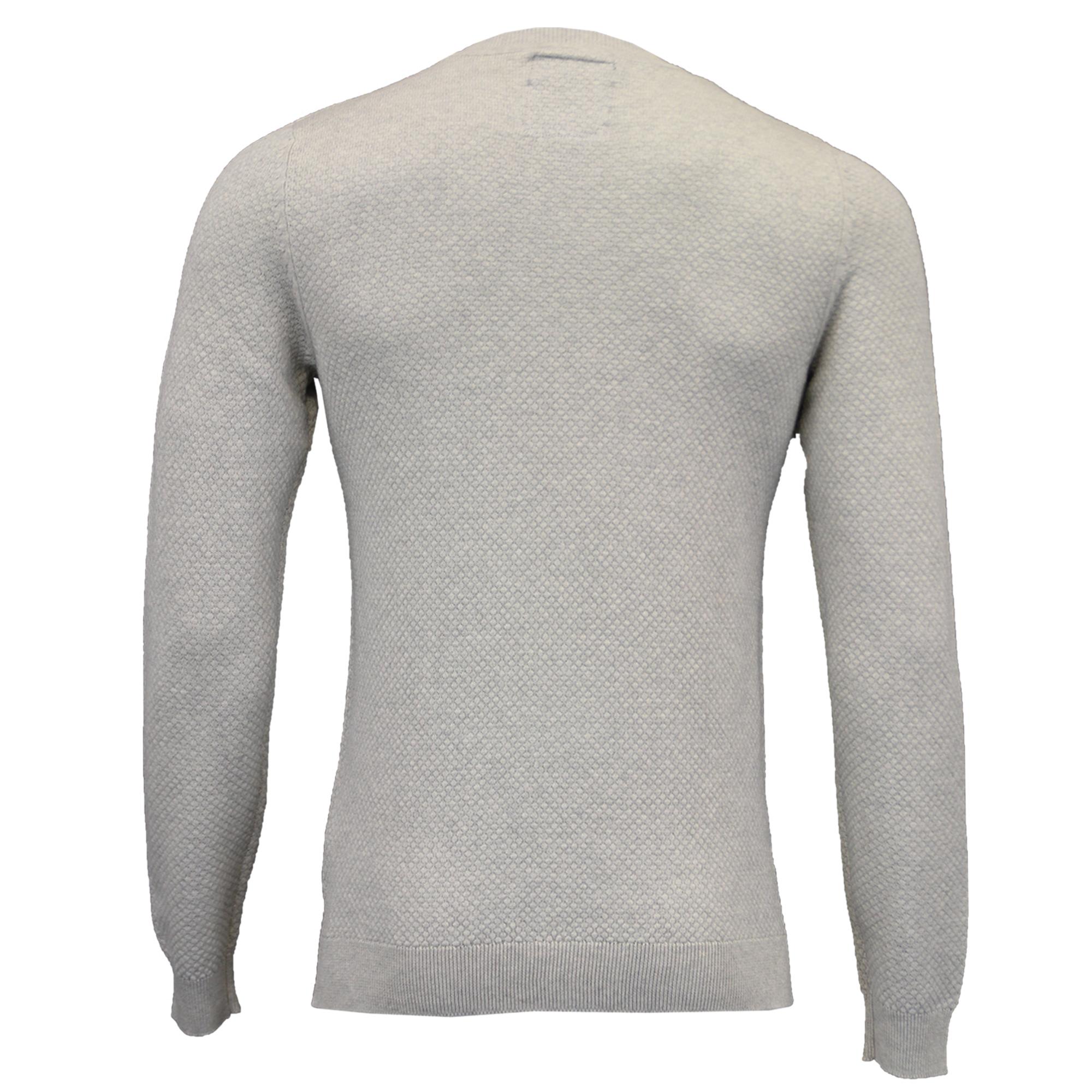 Homme Pull en mailles élimée Pull Pullover Top Gaufre Décontracté Hiver Mode