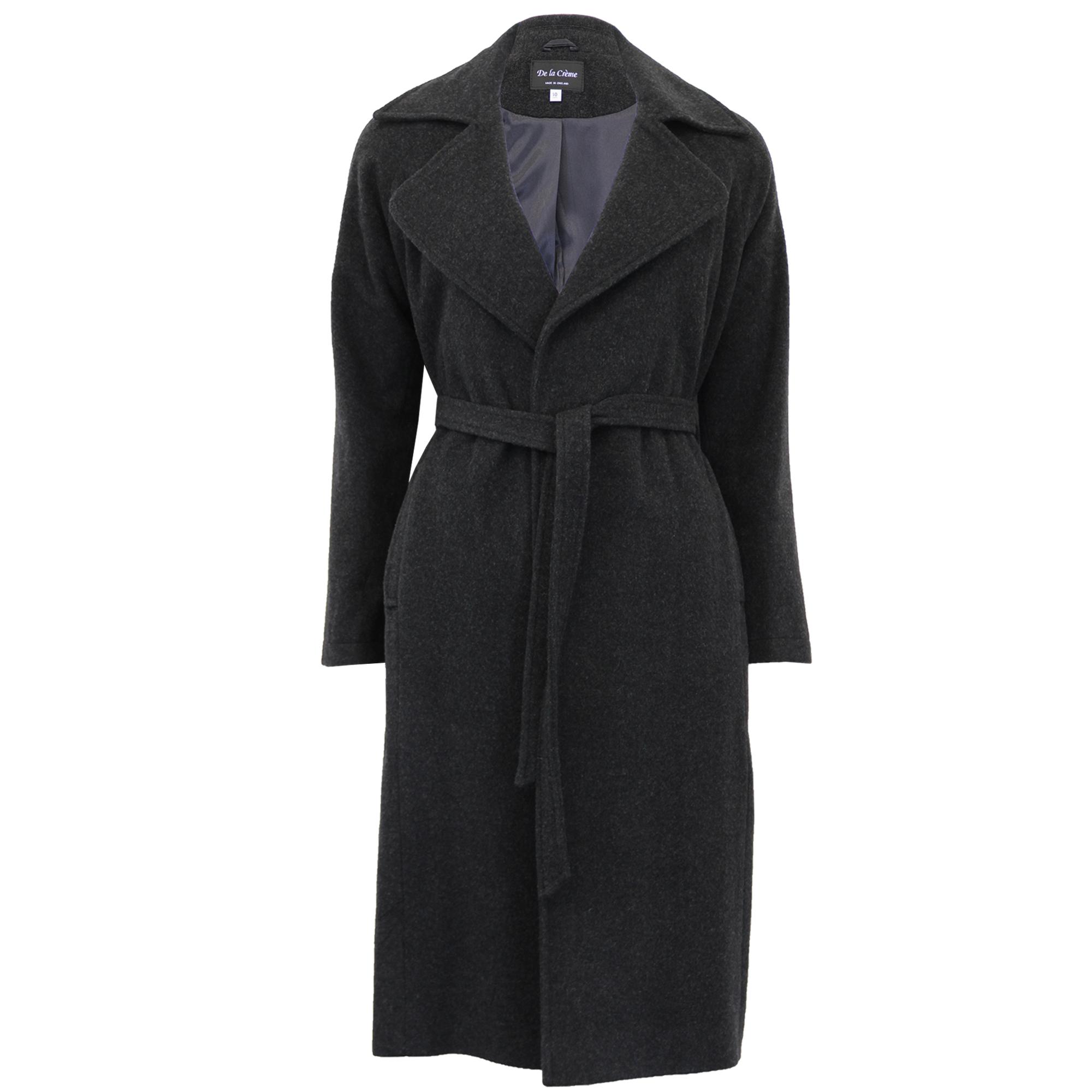 Fashion week Cashmere Casual coats for women for girls