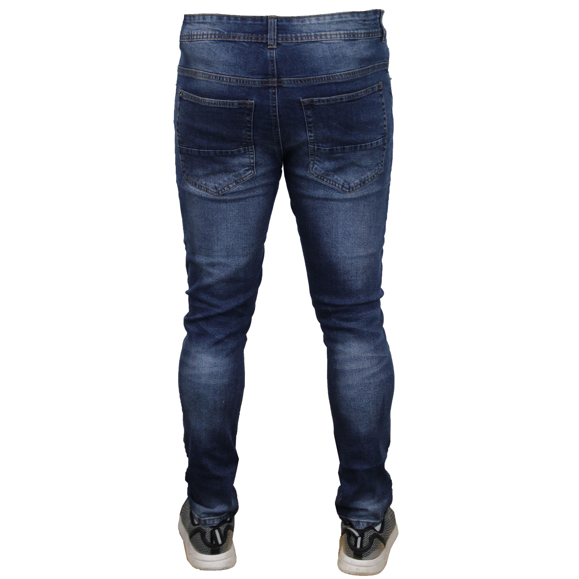 herren zerrissen jeans brave soul ortiz enge passform lerche stretch skinny ebay. Black Bedroom Furniture Sets. Home Design Ideas