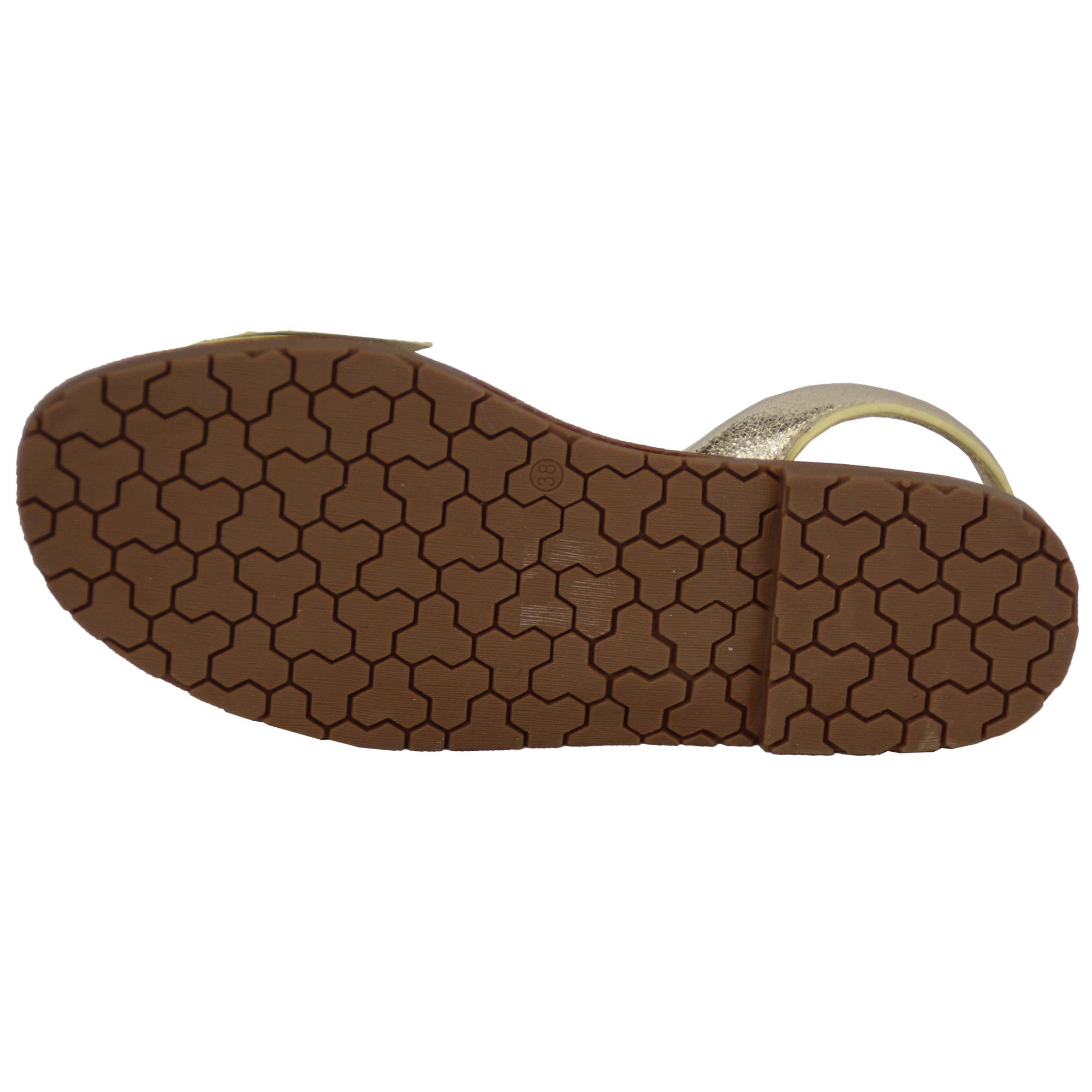 Ladies Sandals Menorcan Womens Slip On Flat Bow Sling Back Flip Flops Summer New