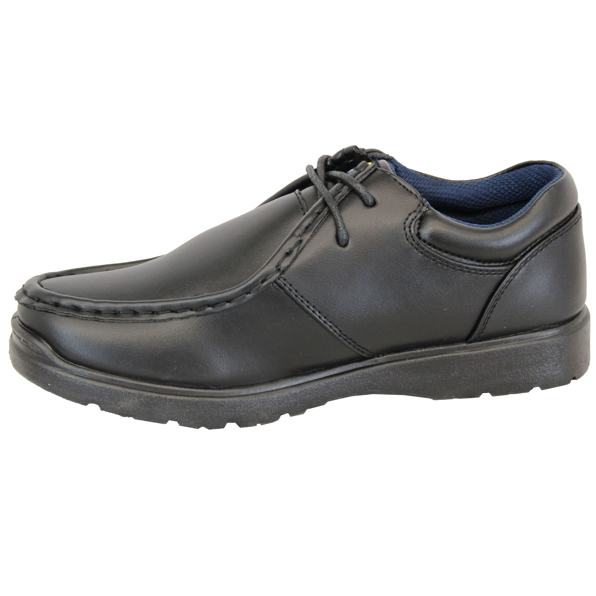 Boys School Shoes Kids Youth US Brass Lace Up Formal Wedding Smart Boots