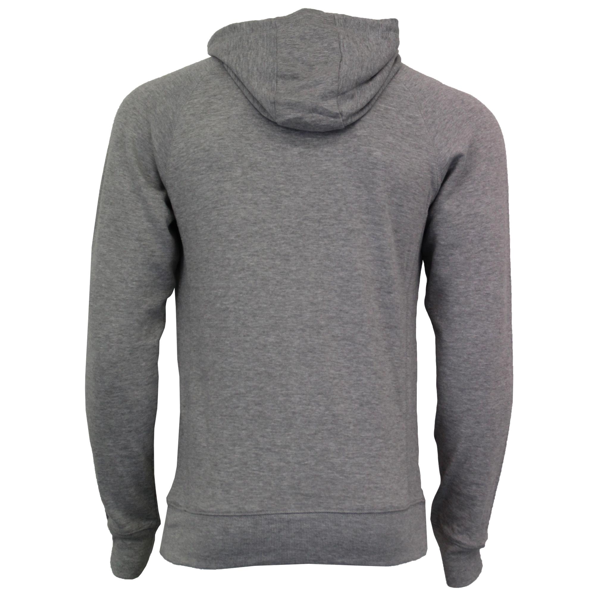 Mens Sweatshirt Tokyo Laundry Hoodie Top Pullover Print Fleece Lined BUSHWICK