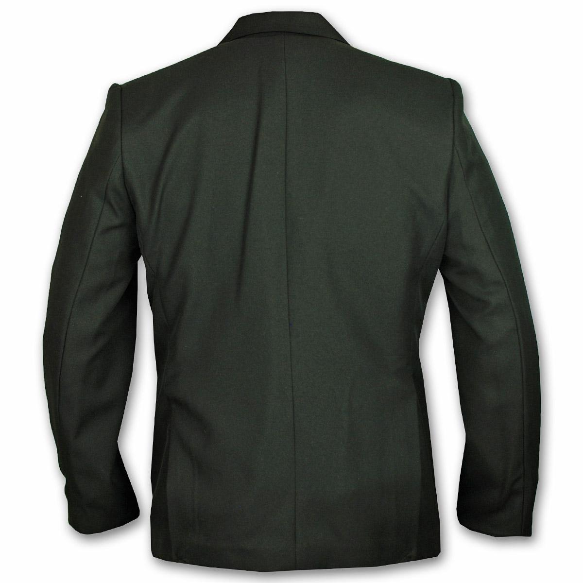 Boys Girls Blazer School Uniform Jacket Coat Black Formal Buttons ...