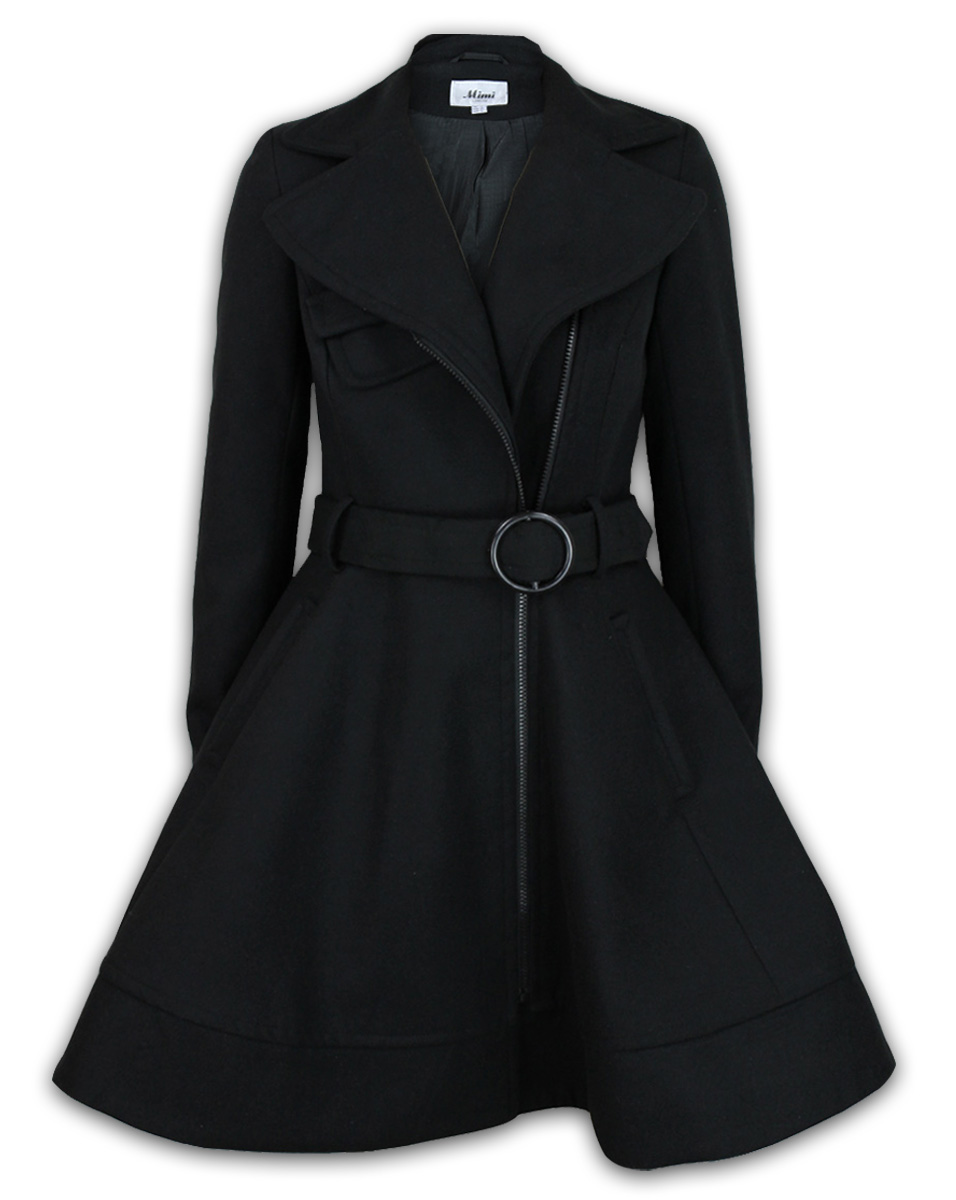 Black Trench Coat Womens Uk - Tradingbasis