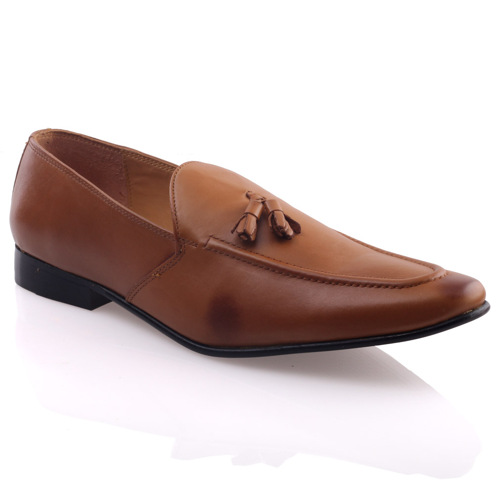 unze mens dhester leather formal dress shoes uk size 6 11