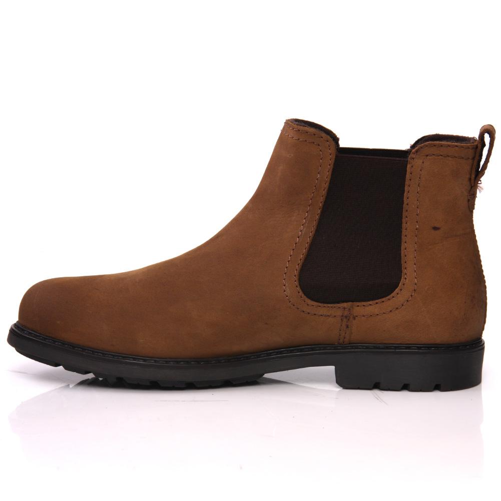 unze vane 39 herren stiefel leder stiefeletten chelsea boots. Black Bedroom Furniture Sets. Home Design Ideas