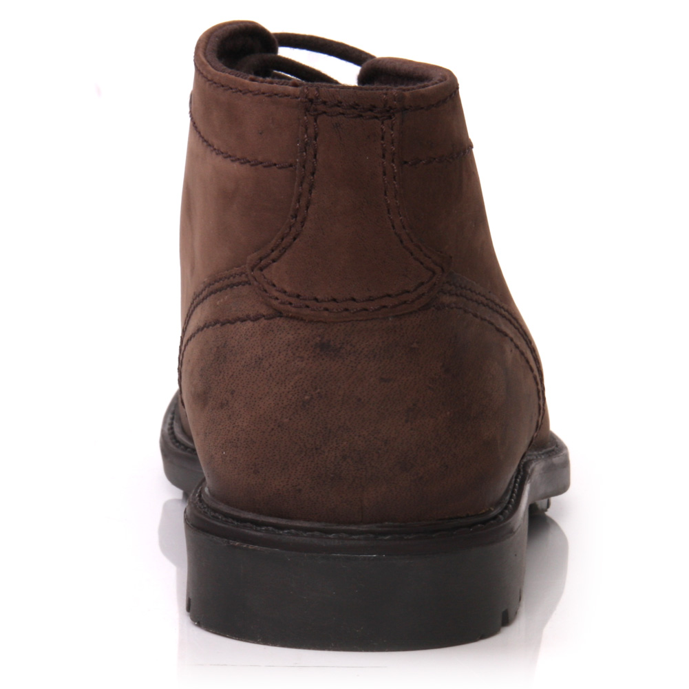 unze rosa mens leather casual chukka lace up ankle boots