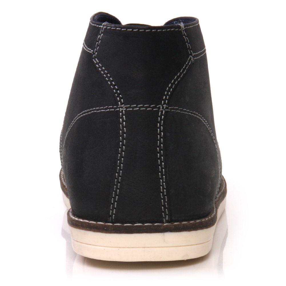 unze kara mens leather casual chukka lace up ankle boots