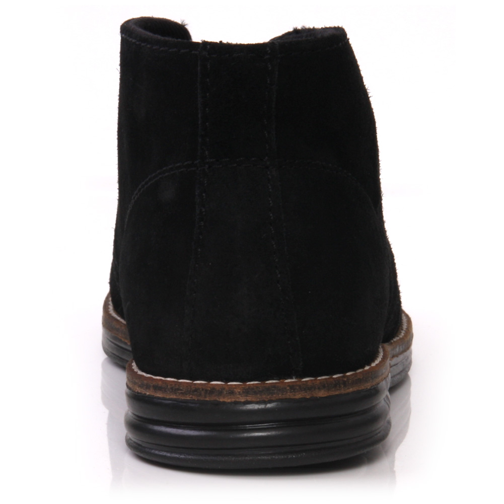 unze myrn 39 men casual suede leather chukka desert boots size uk 7 12 brown ebay. Black Bedroom Furniture Sets. Home Design Ideas