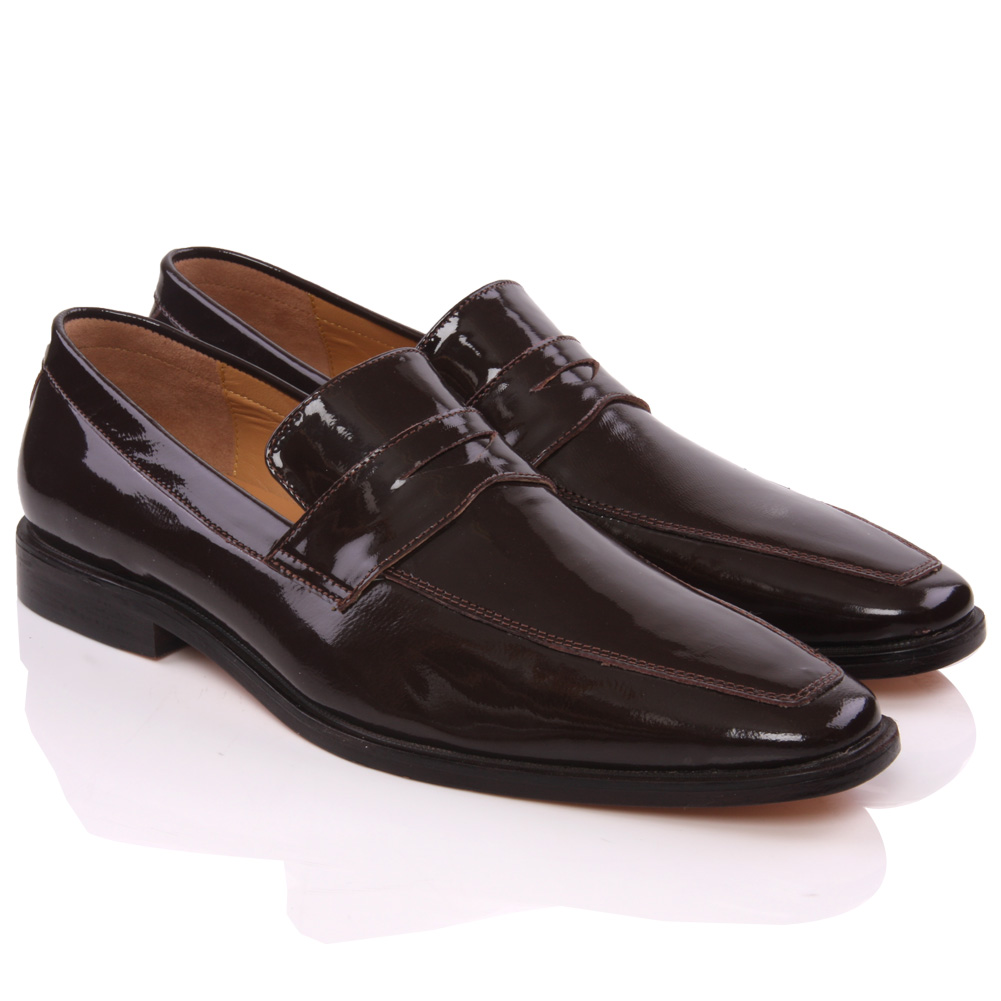 unze mens formal karma designed leather dress shoes