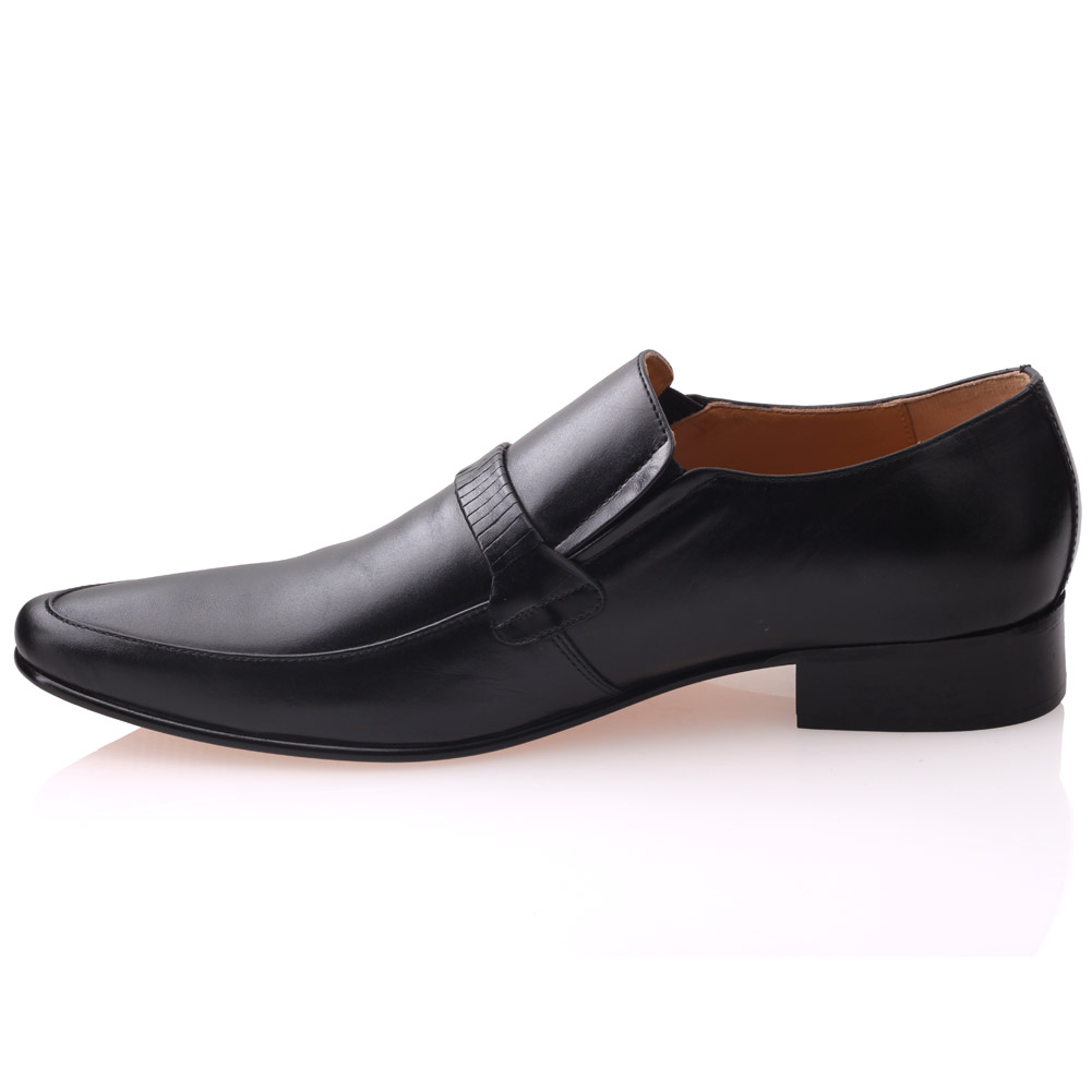 unze mens messio leather formal dress laced up shoes uk