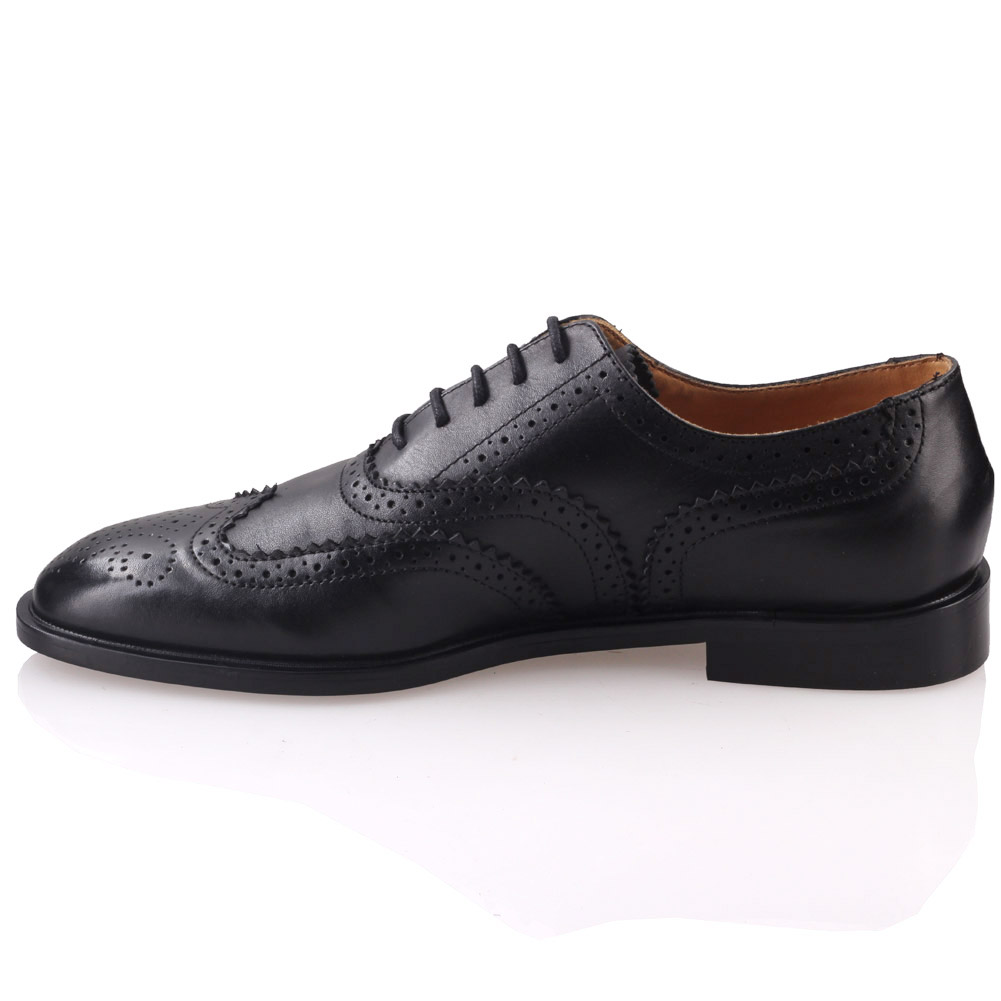 unze mens johanis laced up leather dress shoes uk size 7
