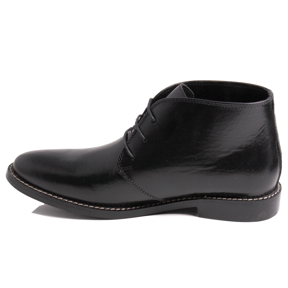 unze mens laced up toe smart dress shoes uk