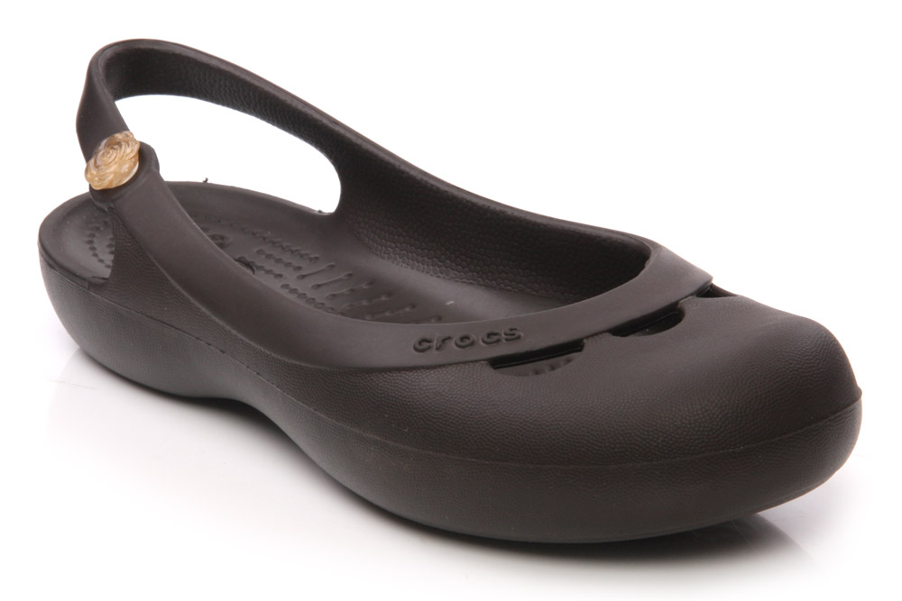 crocs womens flat pumps casual shoes sizes 3 11 uk