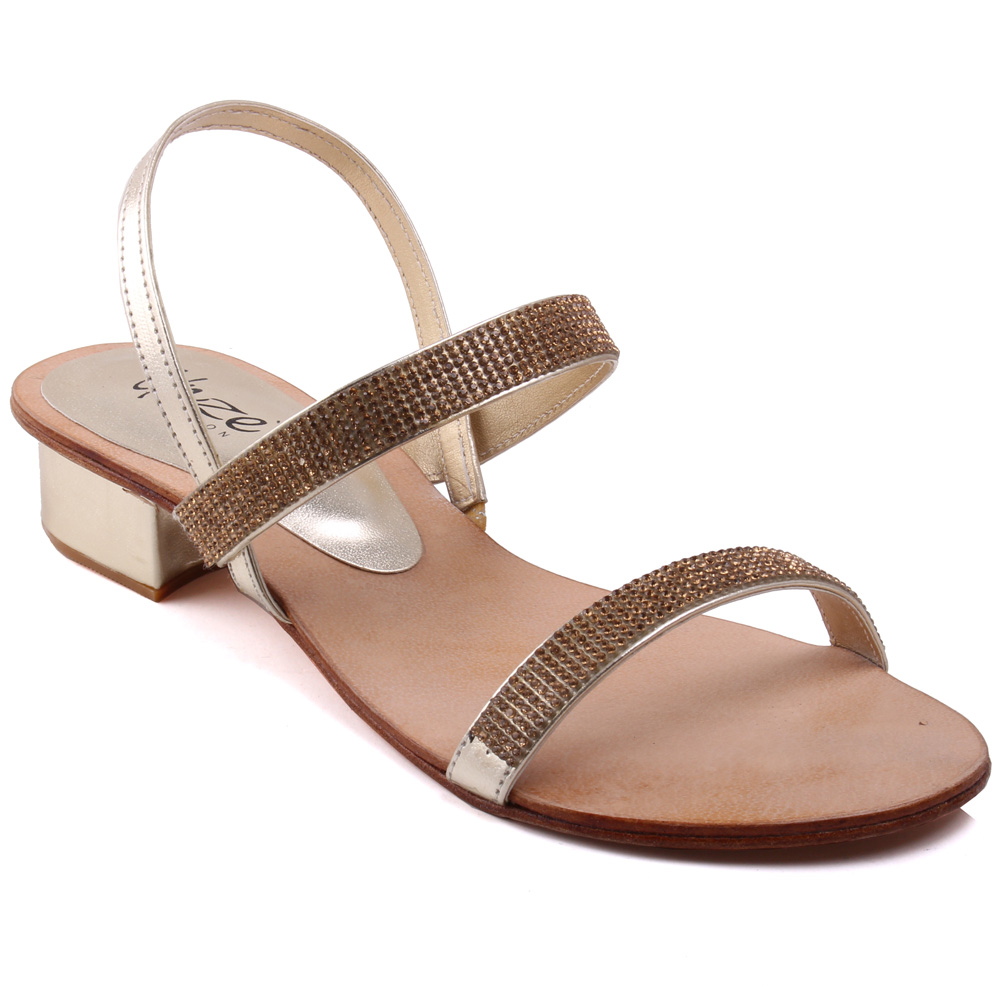 Innovative Women Brown Embellished Sandals  Expertaformacion